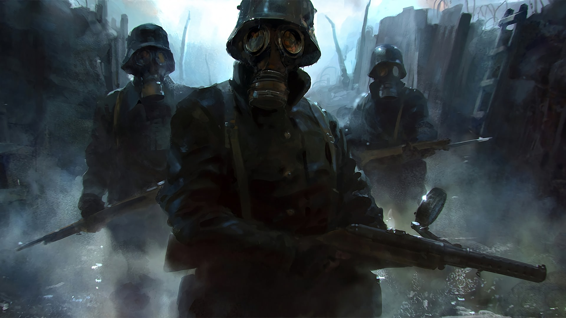 Gas Mask Soldier Wallpapers Top Free Gas Mask Soldier