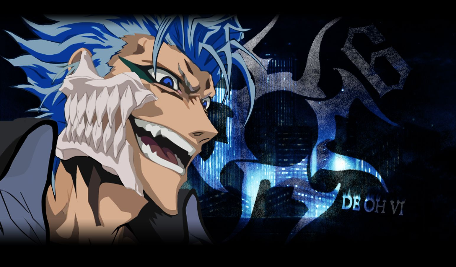 Grimmjow Wallpapers Top Free Grimmjow Backgrounds Wallpaperaccess