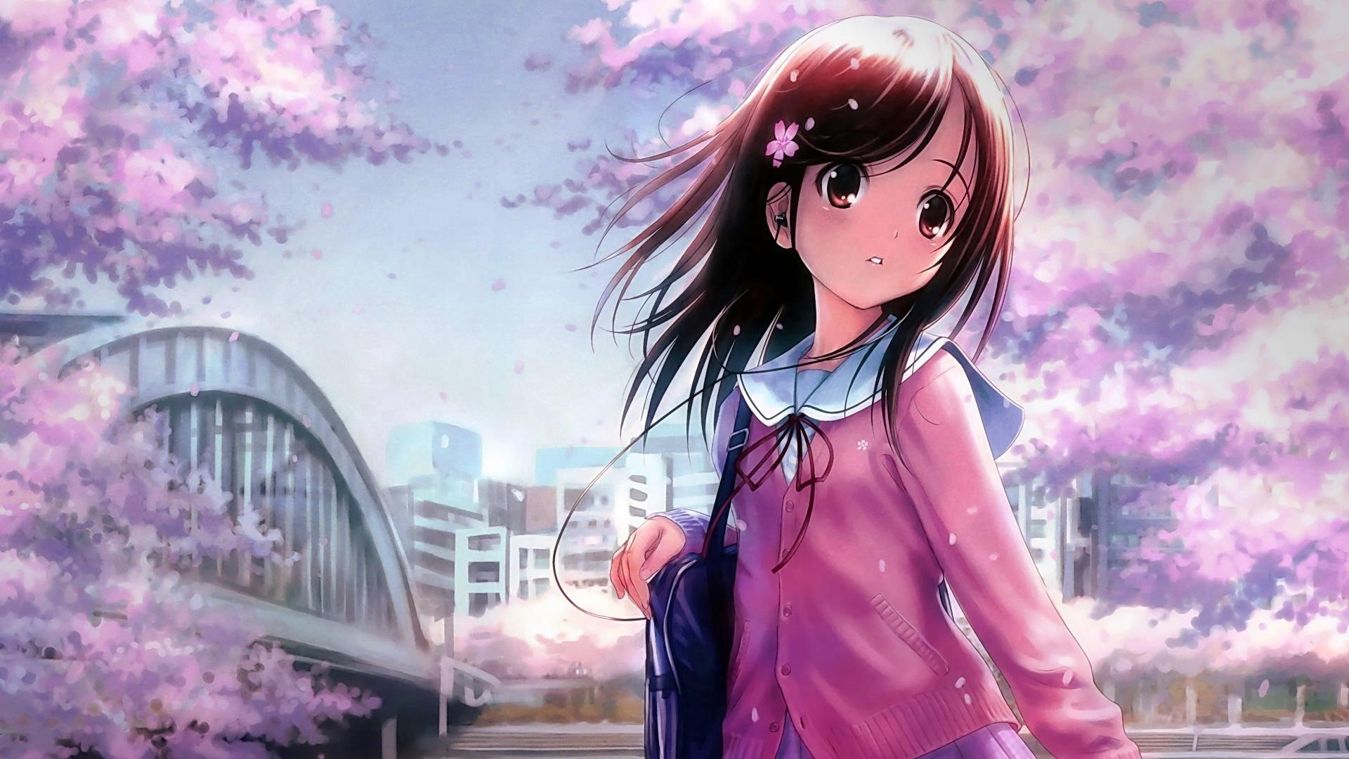 Japanese Girl Anime Wallpapers Top Free Japanese Girl Anime