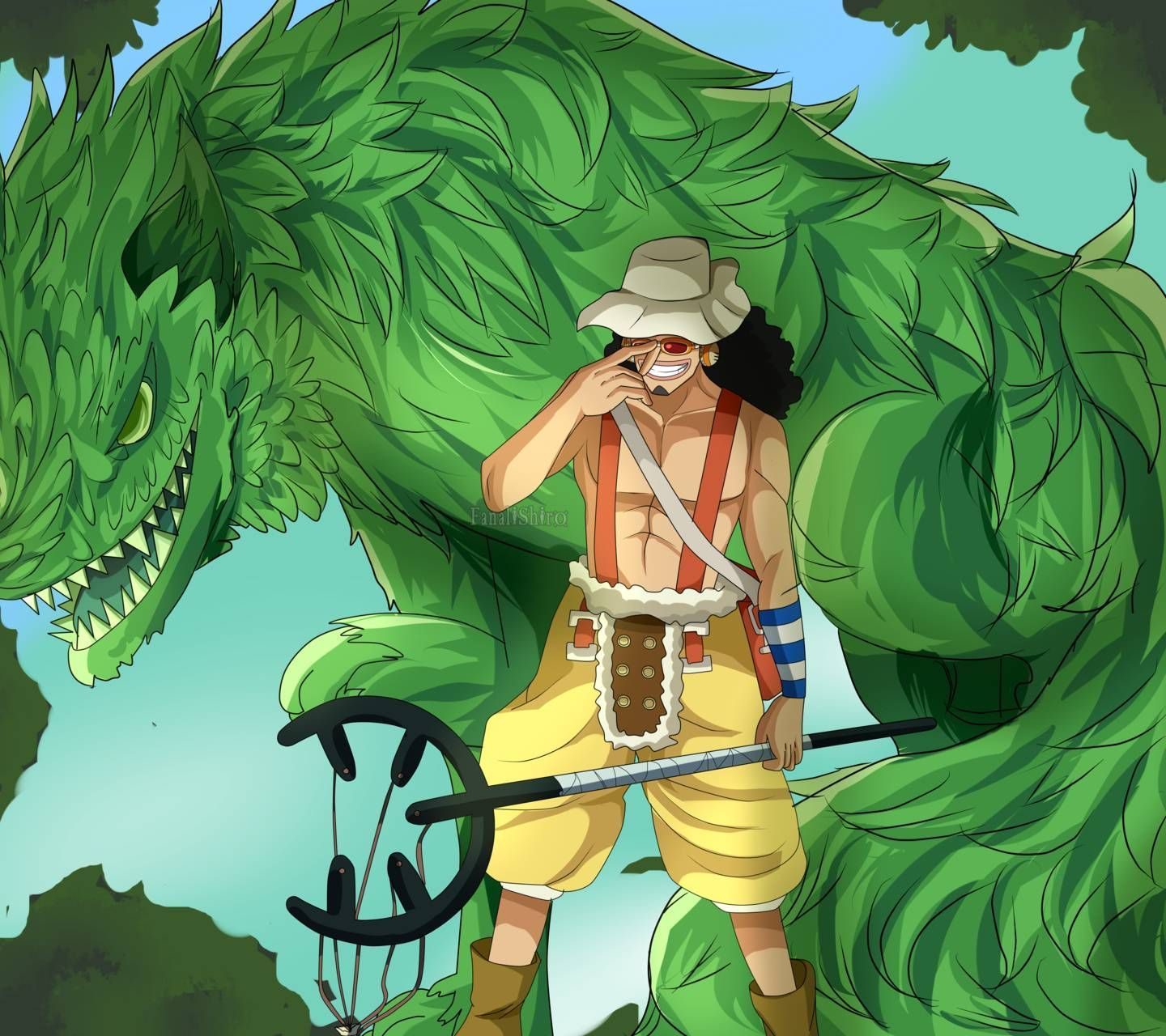 Usopp Wallpapers Top Free Usopp Backgrounds Wallpaperaccess