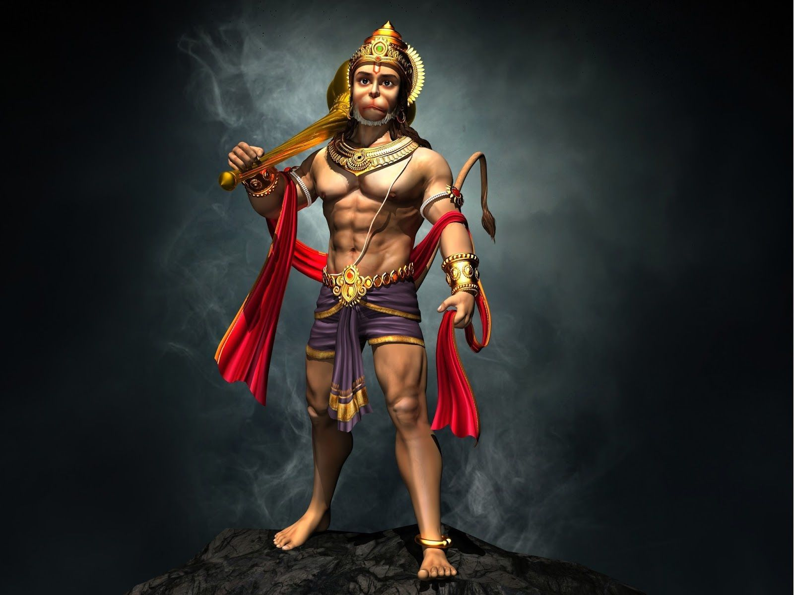 Hanuman Hd Wallpapers Top Free Hanuman Hd Backgrounds Wallpaperaccess