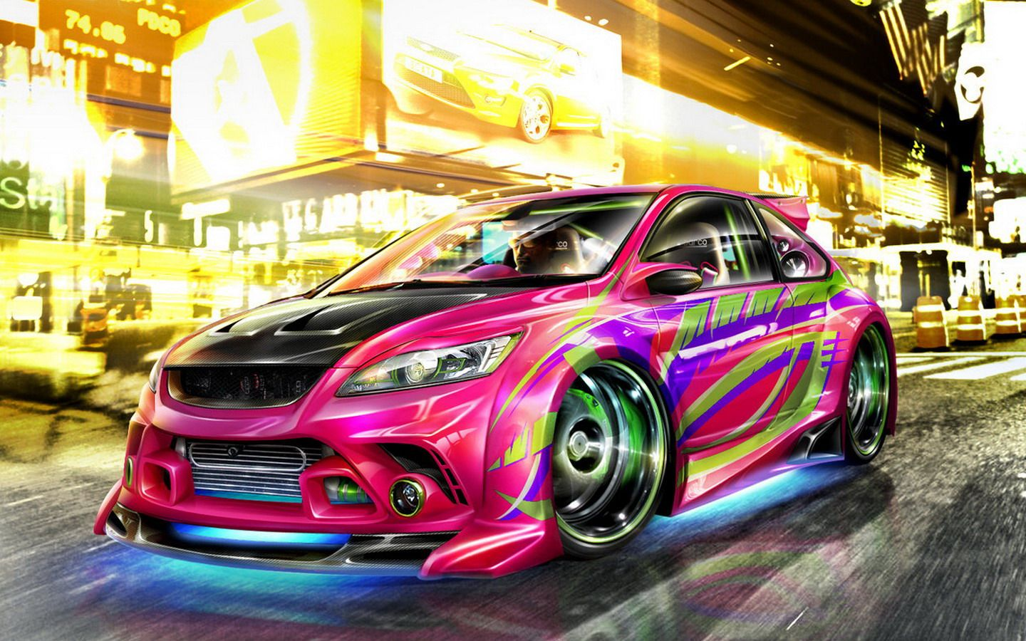 Colorful Cars Wallpapers Top Free Colorful Cars Backgrounds