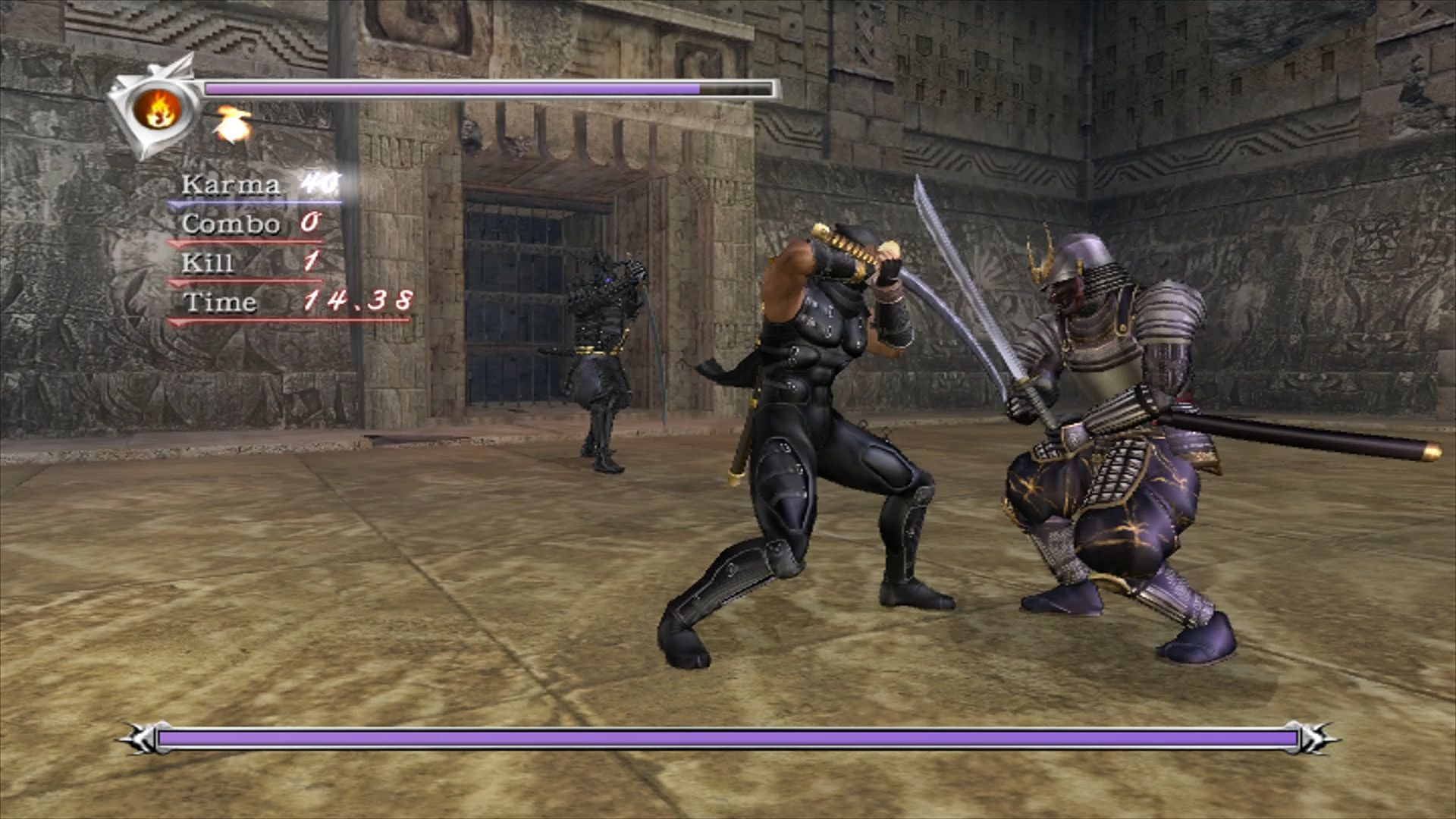 Game Ninja Gaiden Wallpaper: Black Ninja Gaiden 3 Wallpapers