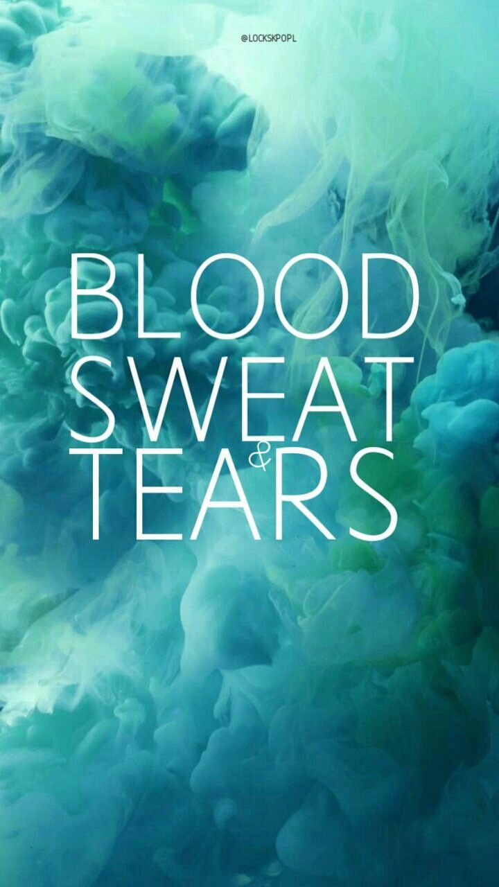 Blood Sweat And Tears Bts Wallpapers Top Free Blood Sweat