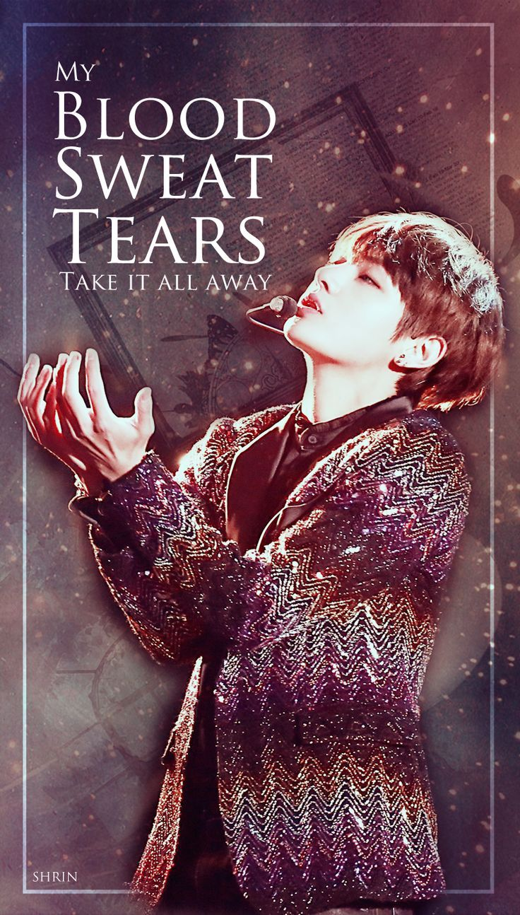 Blood Sweat And Tears Bts Wallpapers Top Free Blood Sweat And