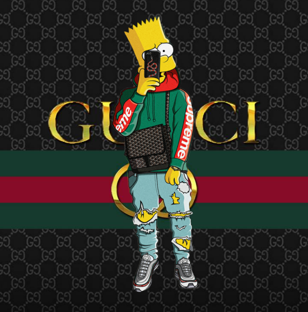 Gucci Cartoon Wallpapers Top Free Gucci Cartoon Backgrounds Wallpaperaccess