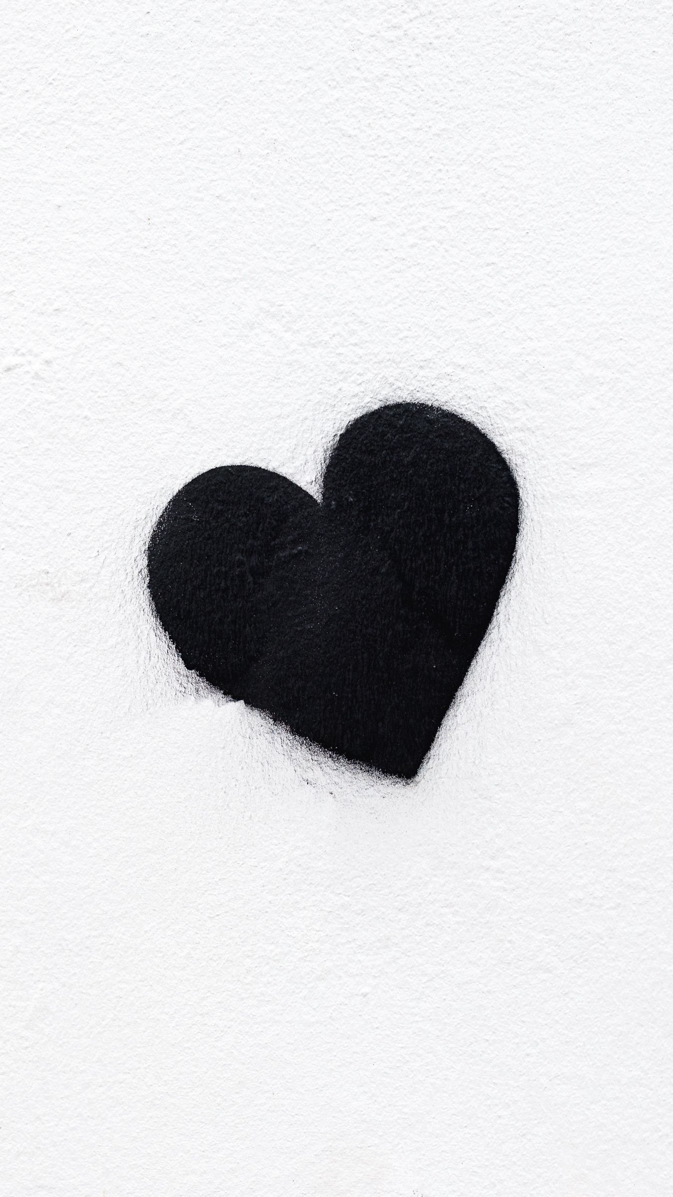 Black And White Heart Wallpapers Top Free Black And White Heart Backgrounds Wallpaperaccess