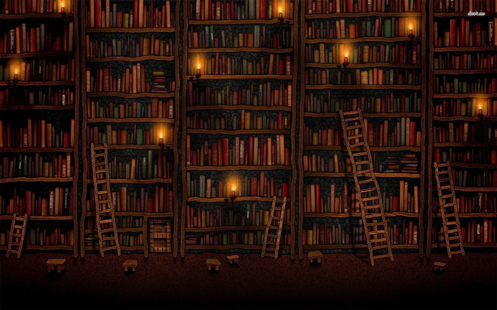 Old Library Wallpapers - Top Free Old ...