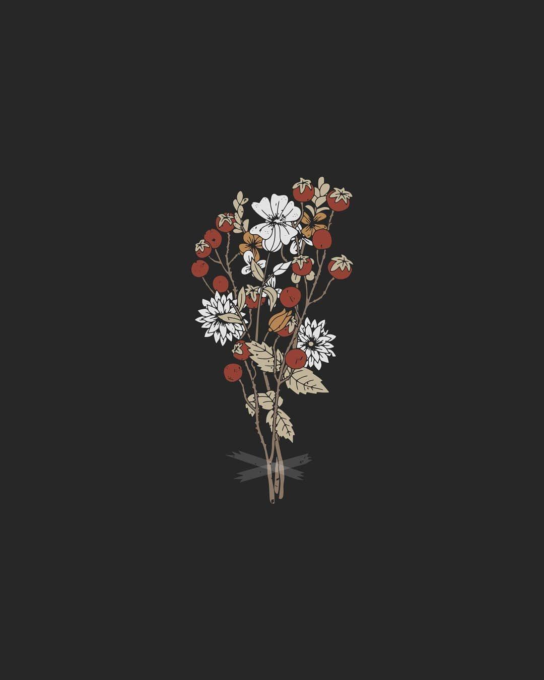 Aesthetic Flower Art Wallpapers Top Free Aesthetic Flower Art Backgrounds Wallpaperaccess