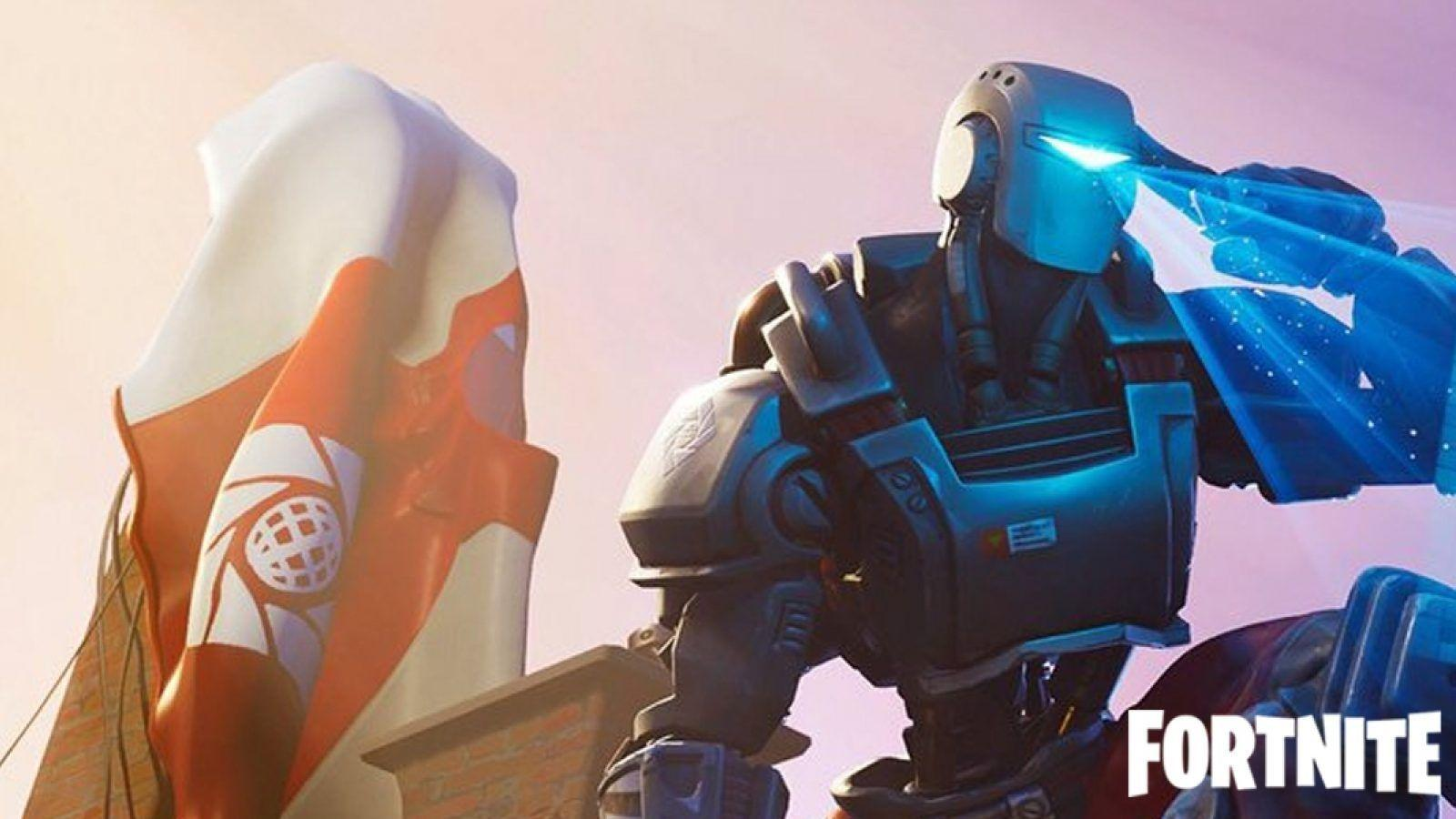 Fortnite Robots For Free To Play With For Kids Fortnite Robot Wallpapers Top Free Fortnite Robot Backgrounds Wallpaperaccess