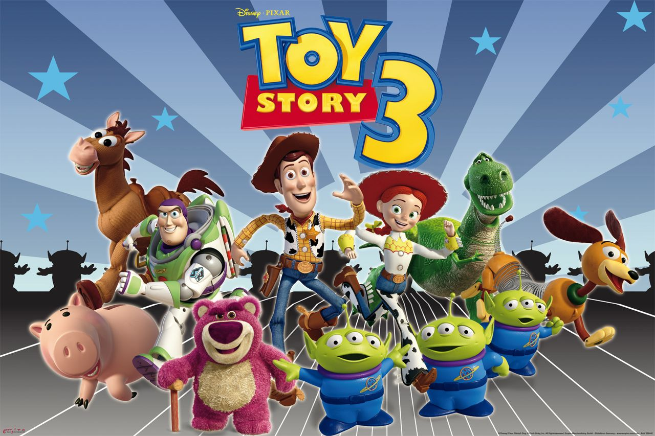 Toy Story 3 Logo Wallpapers