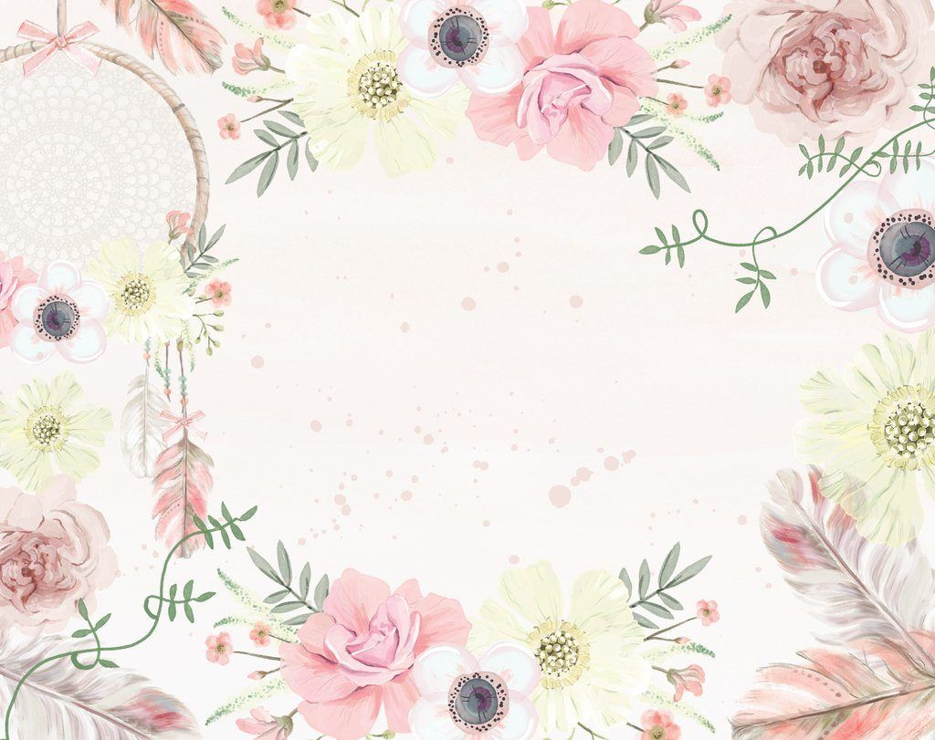 Boho Flower Wallpapers Top Free Boho Flower Backgrounds