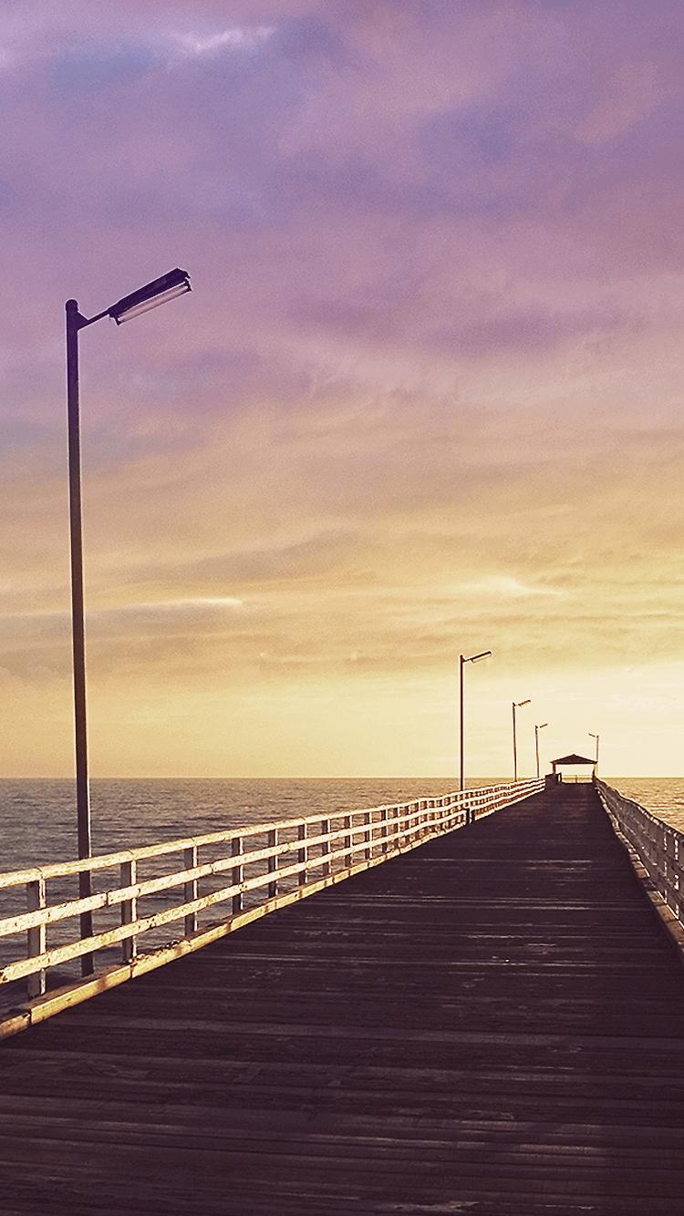 Boardwalk At Ocean Sunset Wallpapers Top Free Boardwalk At