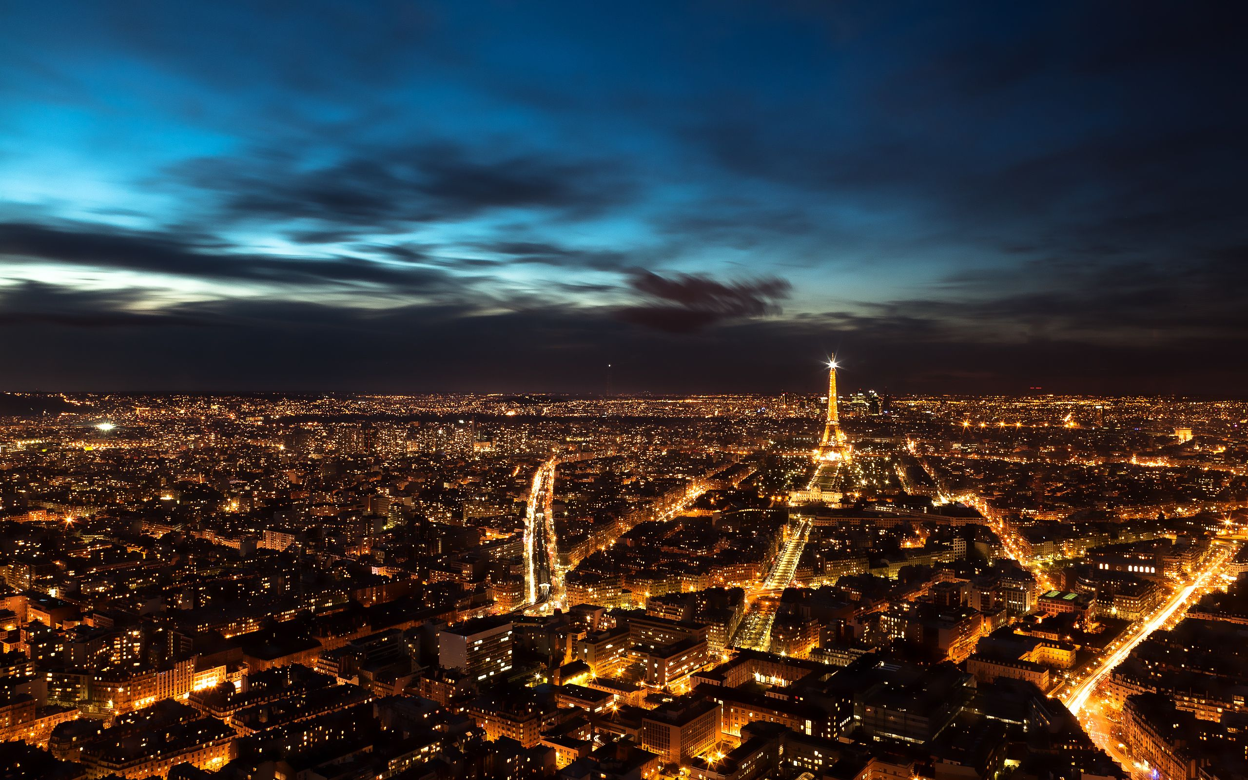 Paris At Night Wallpapers Top Free Paris At Night
