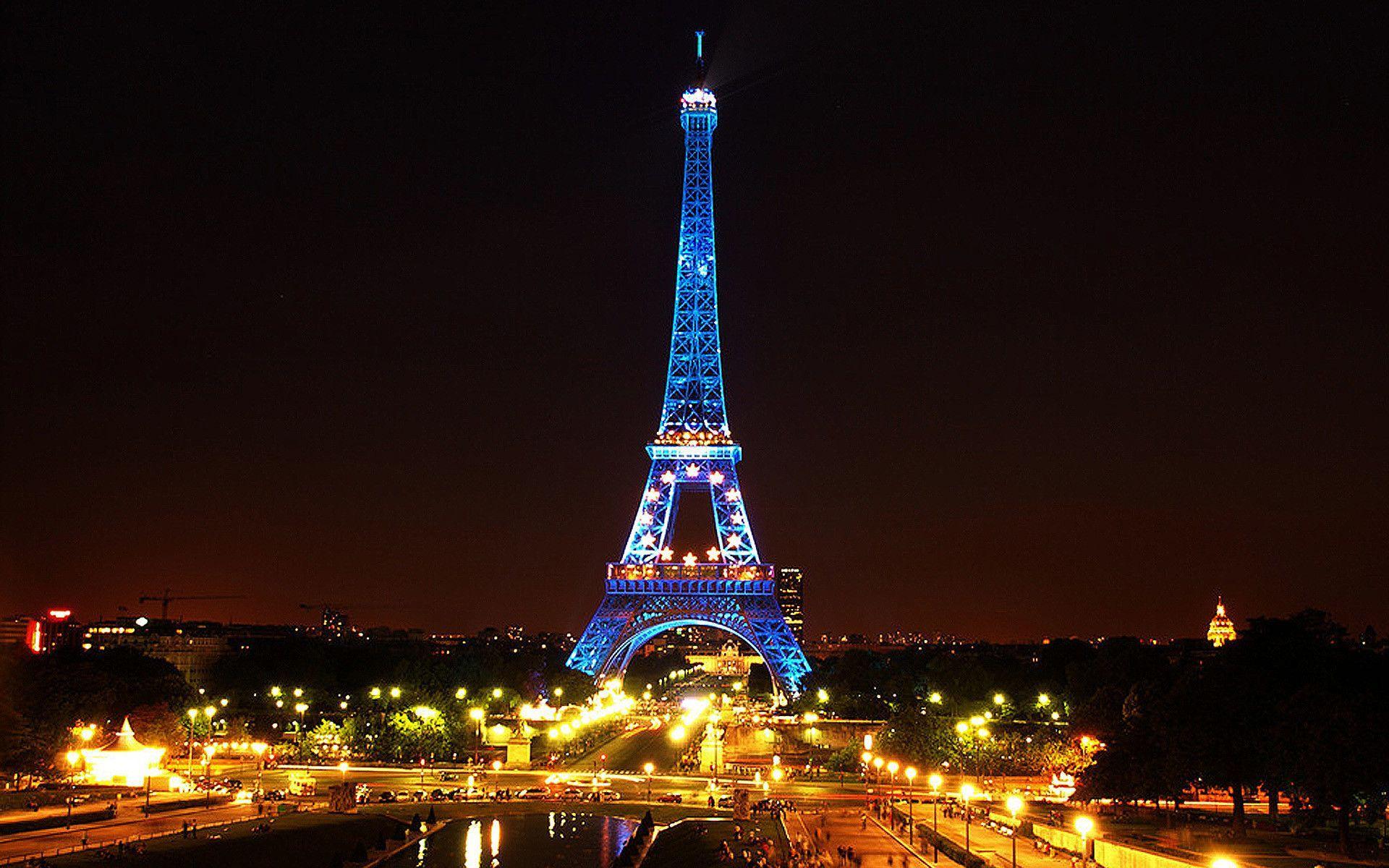Paris At Night Wallpapers