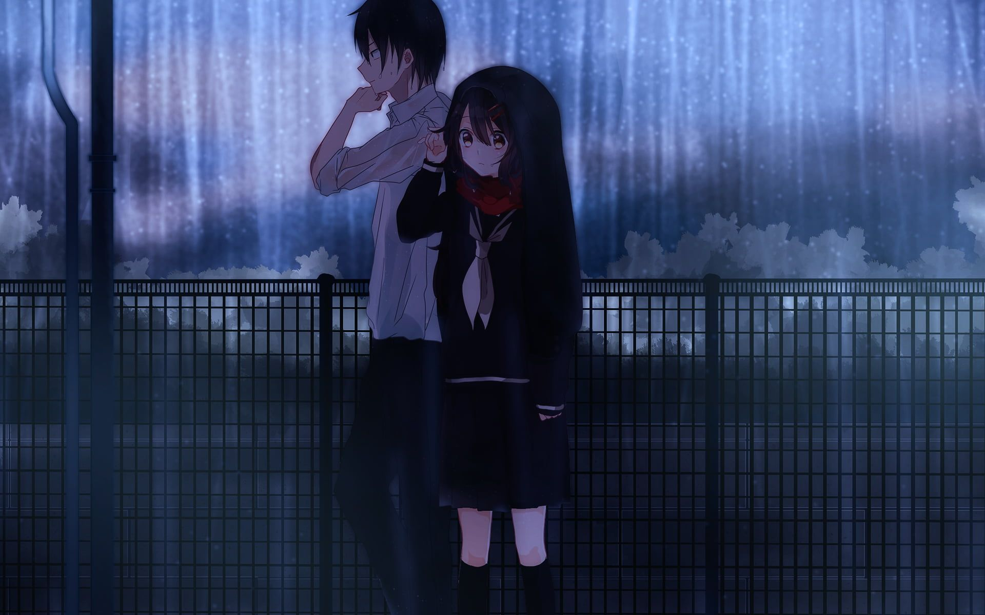 Sad Anime Couples Wallpapers Top Free Sad Anime Couples Backgrounds Wallpaperaccess
