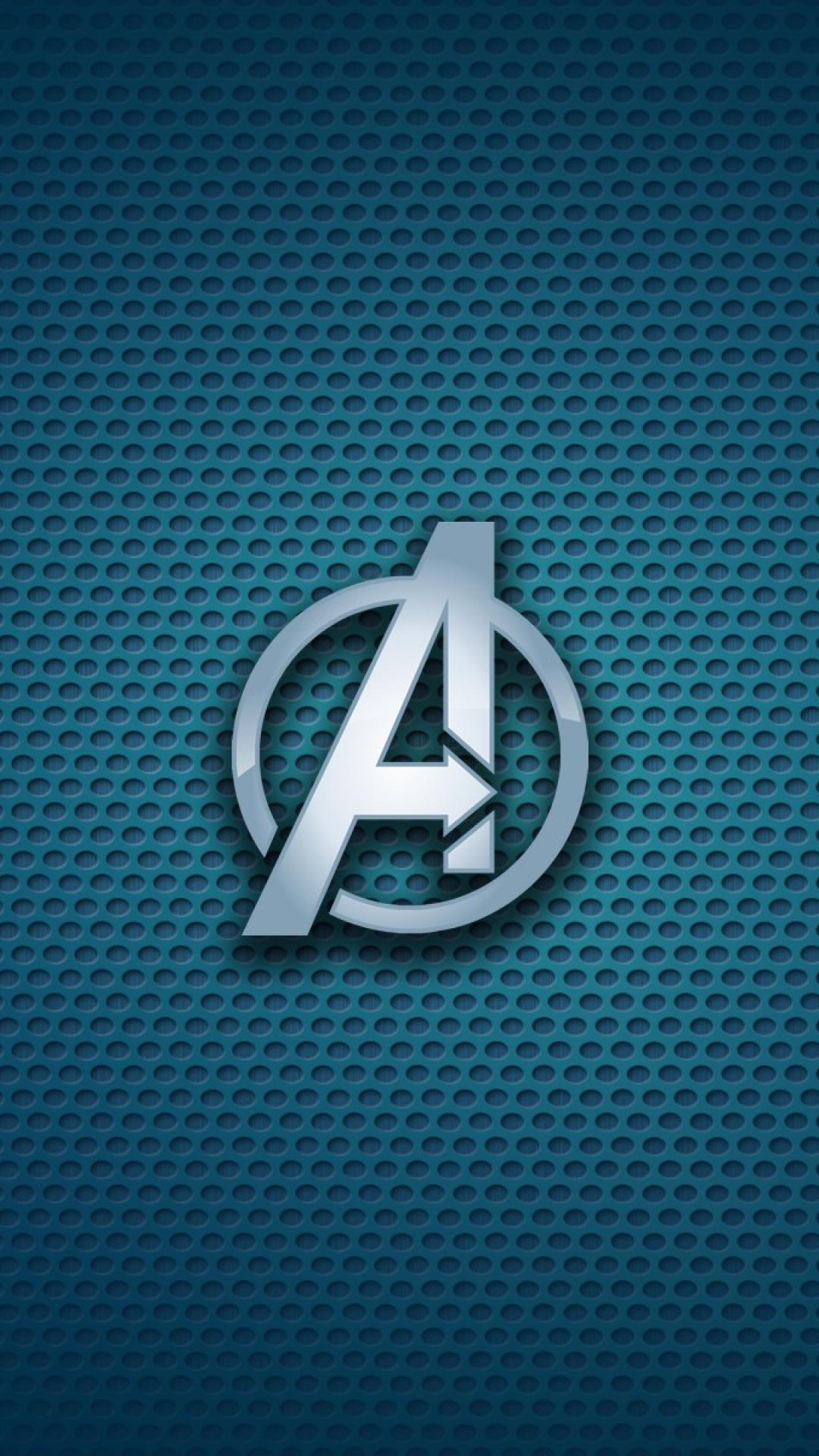 Avengers logo iphone wallpapers top free avengers logo - Avengers symbol wallpaper ...
