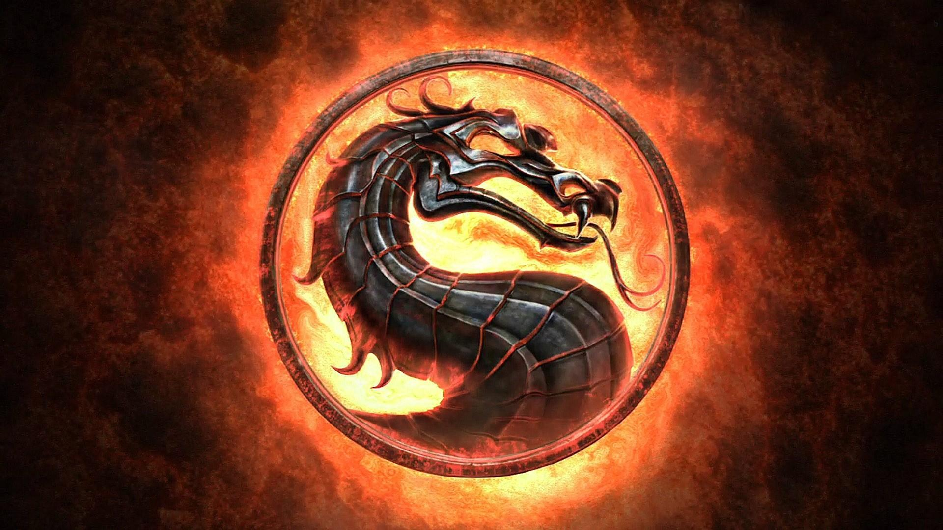 Mortal Kombat Logo Wallpapers Top Free Mortal Kombat Logo