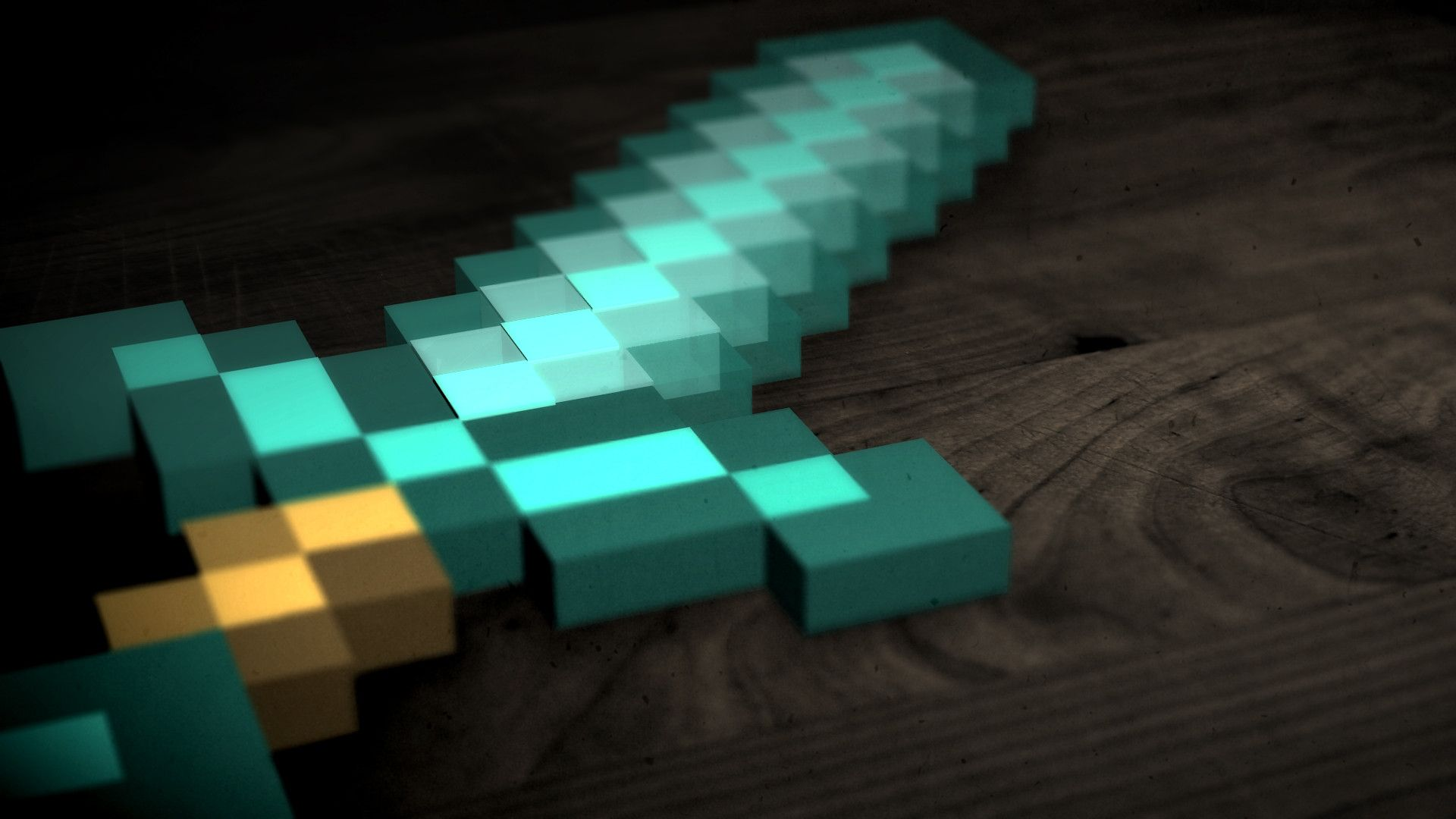 The Diamond Sword From Minecraft Swish And Slash