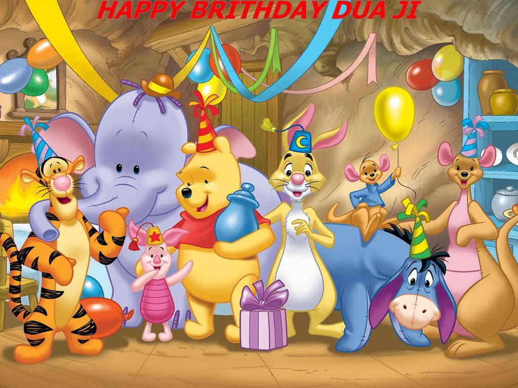Cute Birthday Cartoon Wallpapers Top Free Cute Birthday