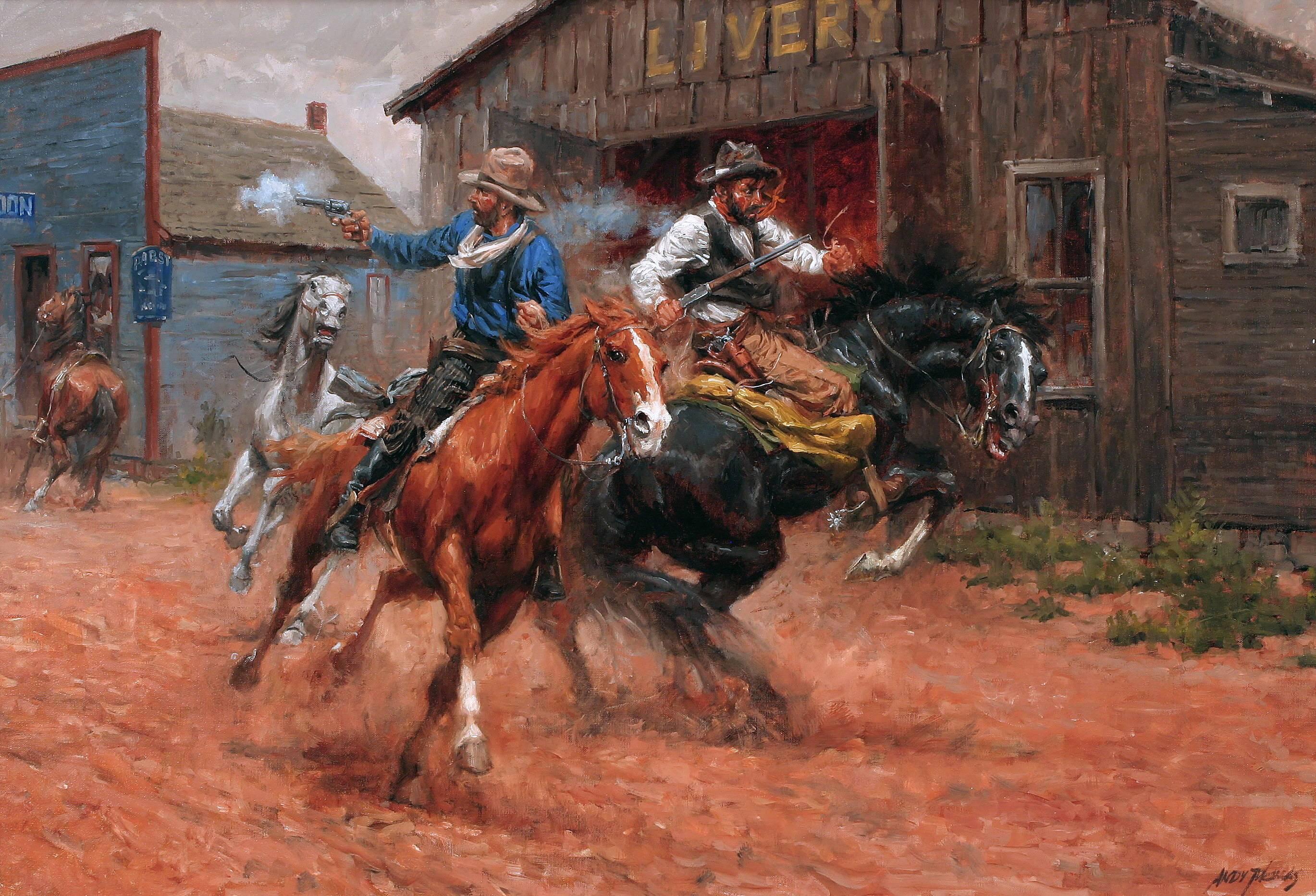 Western Art Wallpapers Top Free Western Art Backgrounds Wallpaperaccess