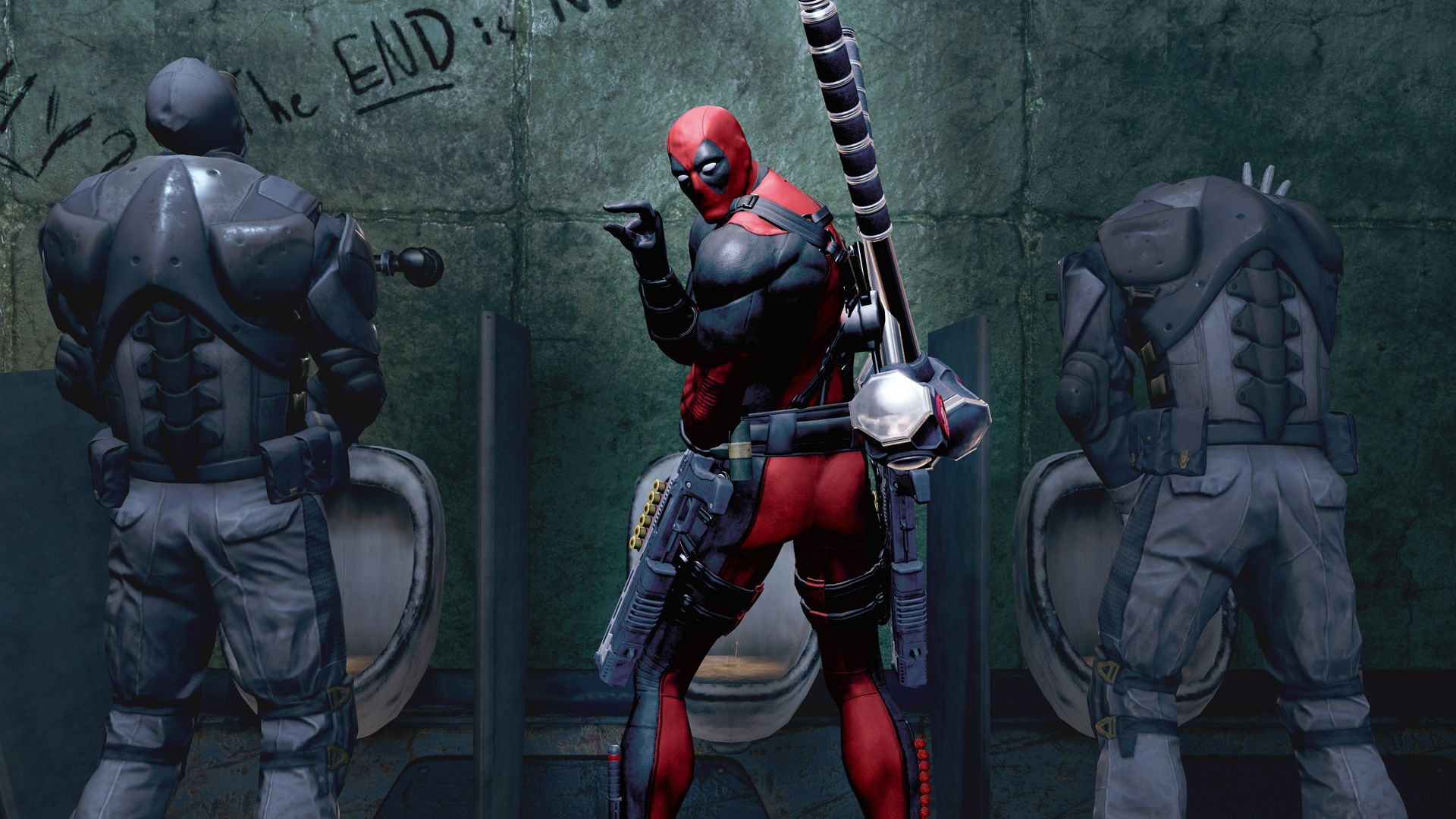 Deadpool Ps3 Wallpapers Top Free Deadpool Ps3 Backgrounds
