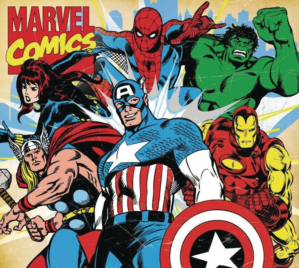 Marvel Retro Wallpapers - Top Free ...