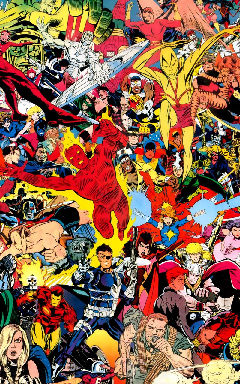 Classic Marvel Wallpapers - Top Free ...