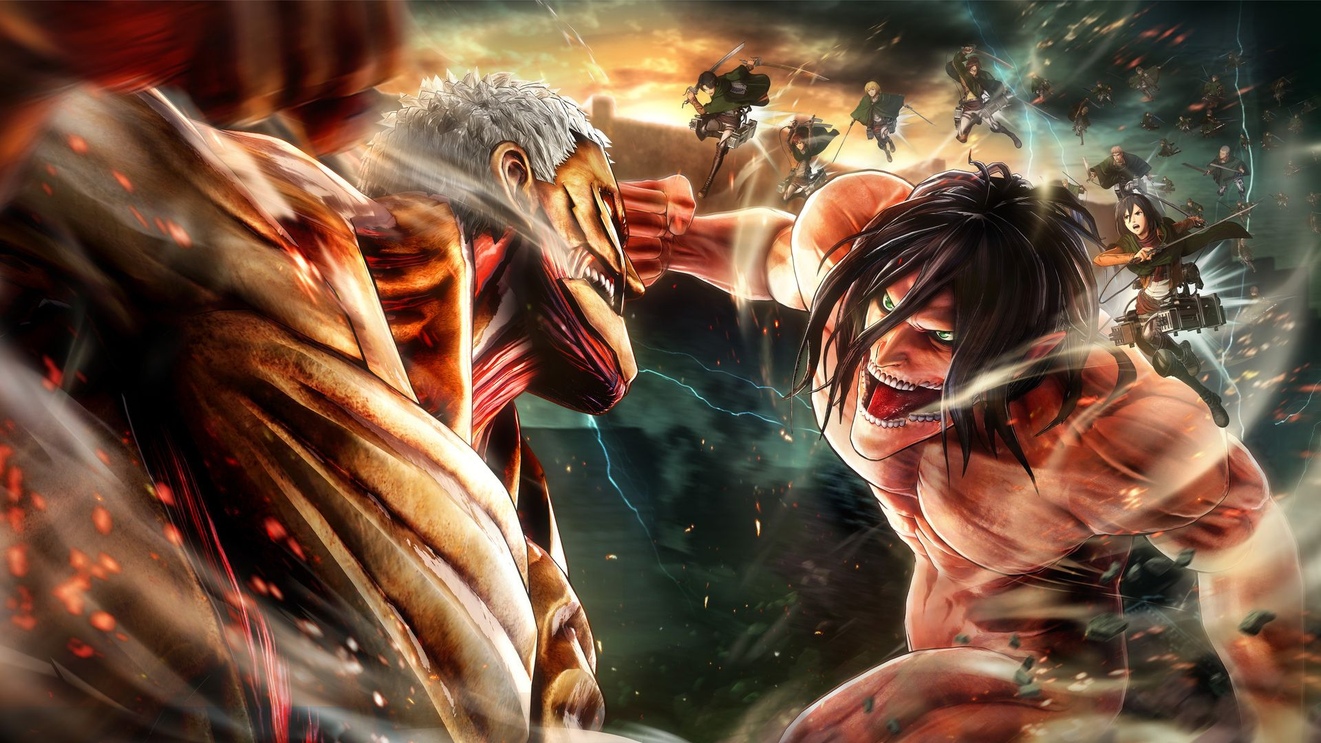 Attack On Titan Laptop Wallpapers Top Free Attack On Titan Laptop Backgrounds Wallpaperaccess