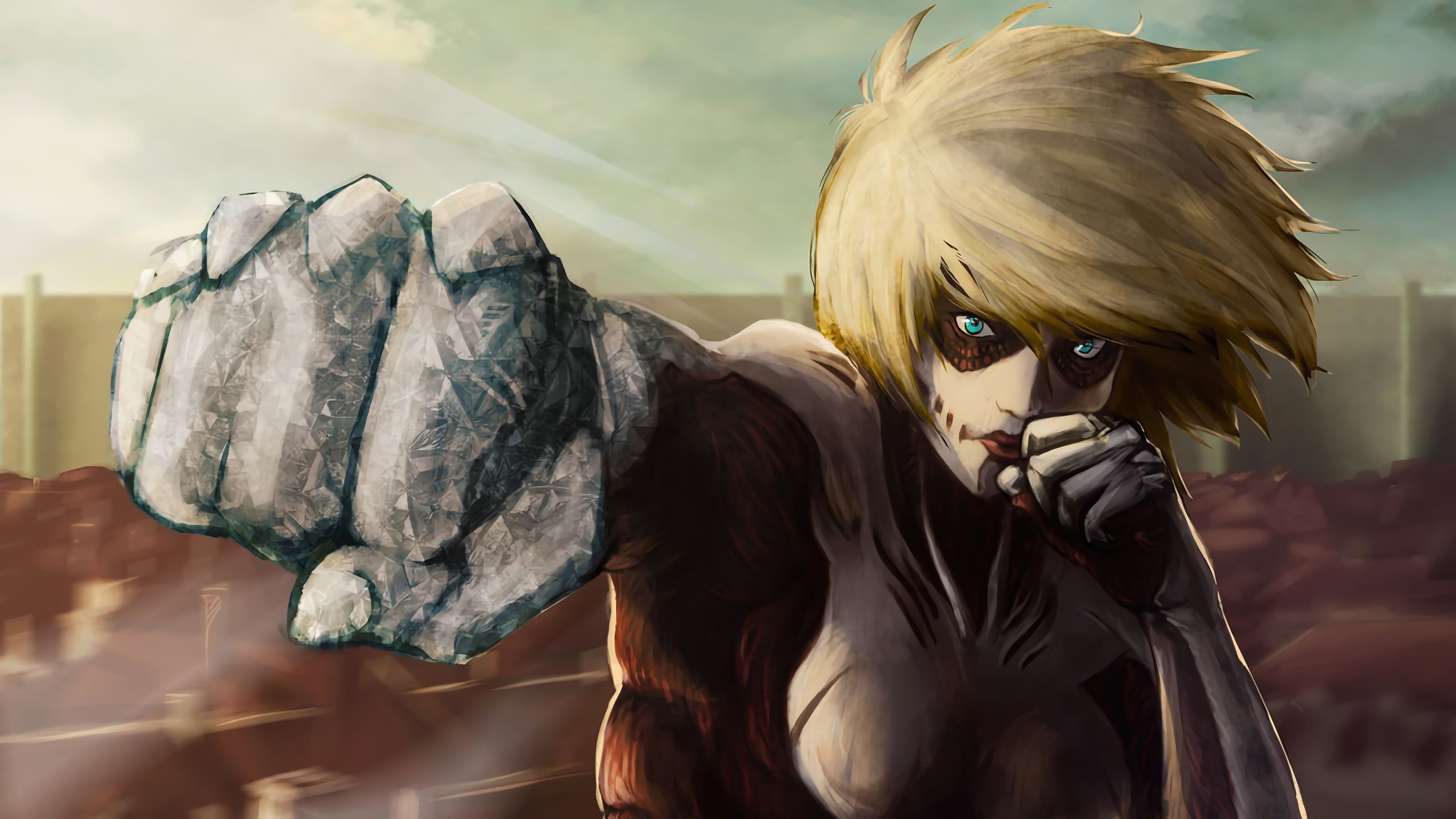 Female Titan Wallpapers Top Free Female Titan Backgrounds Wallpaperaccess