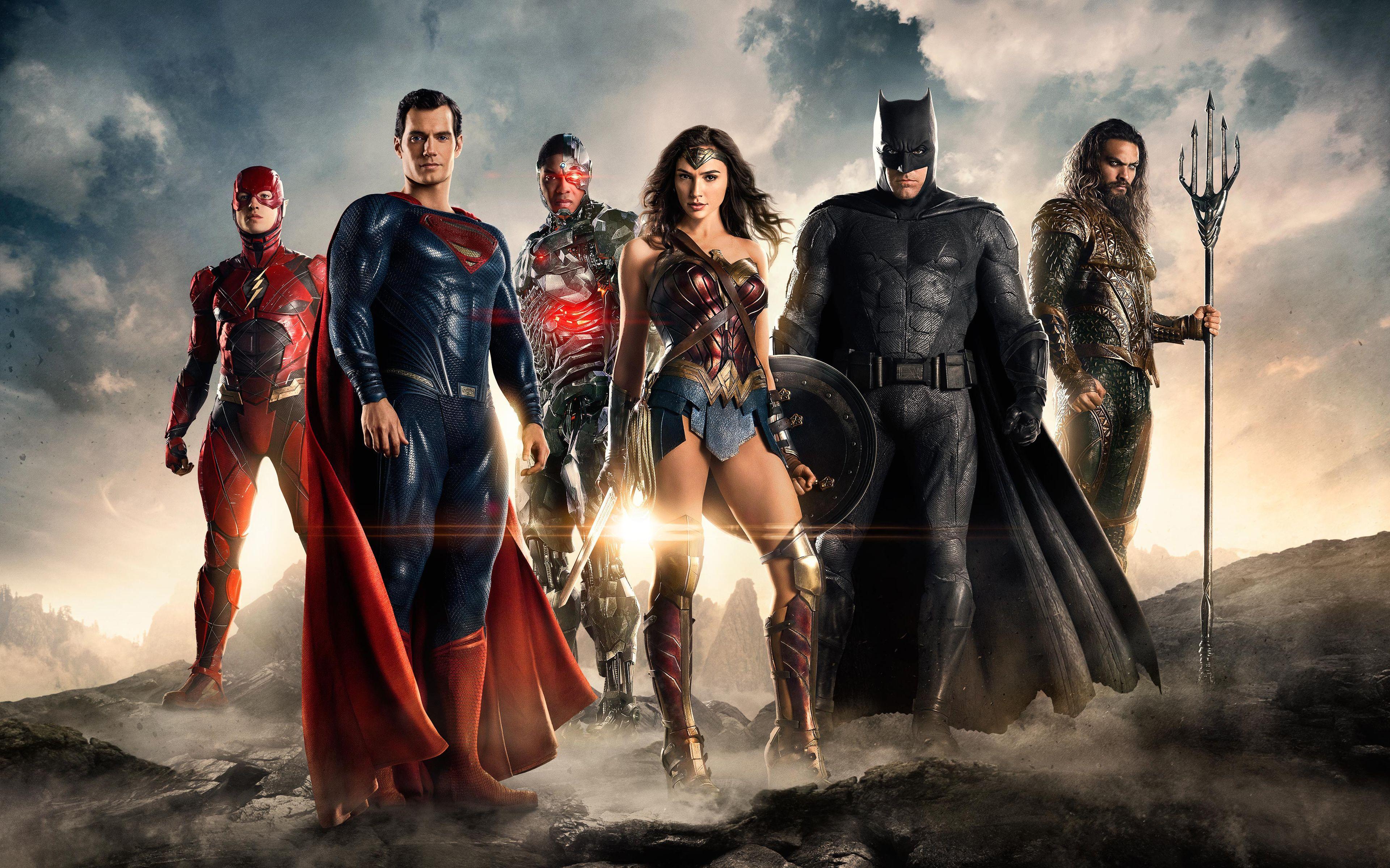 Justice League Hd Desktop Wallpapers Top Free Justice