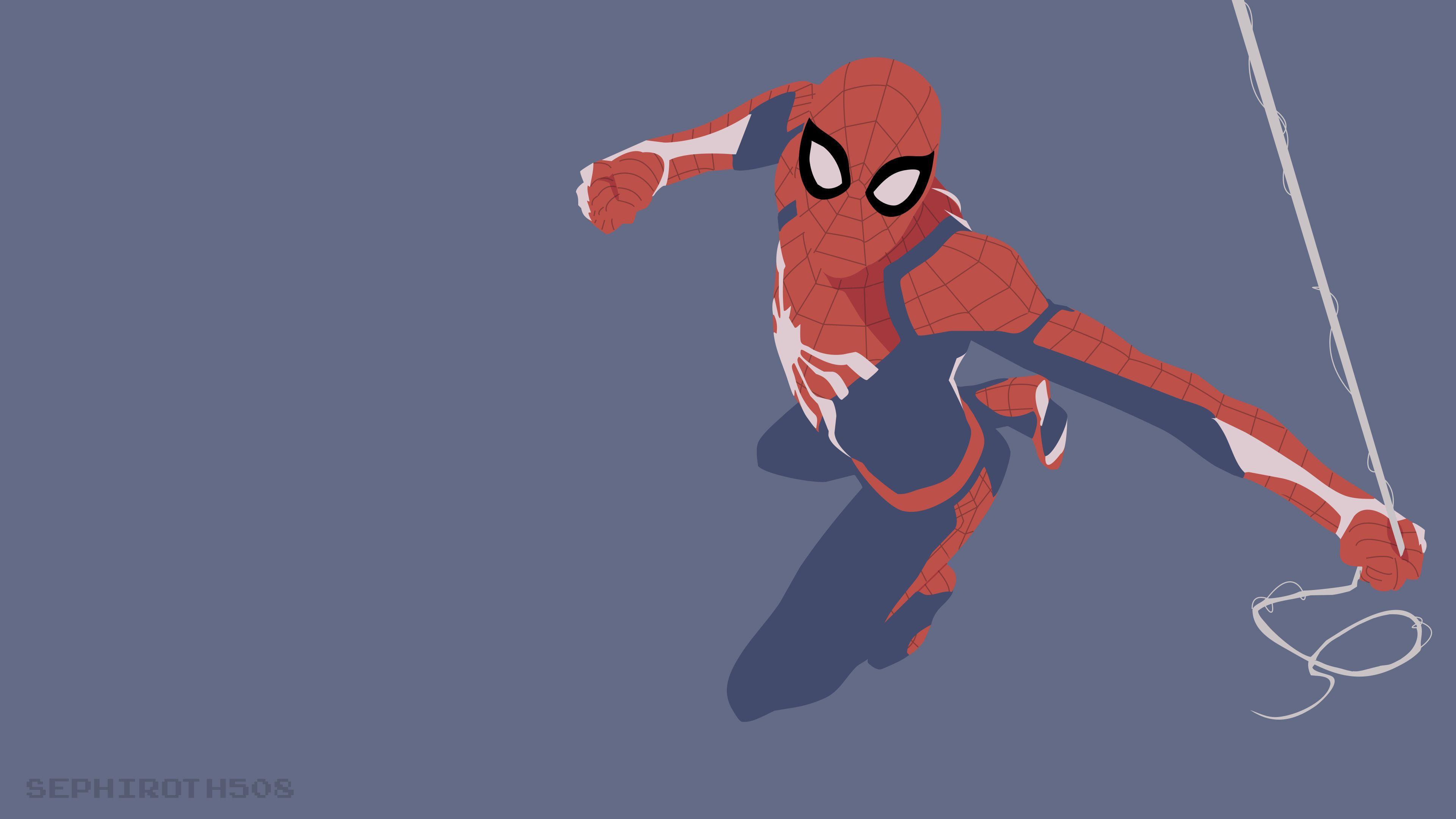 Spider-Man Minimalist Wallpapers - Top ...