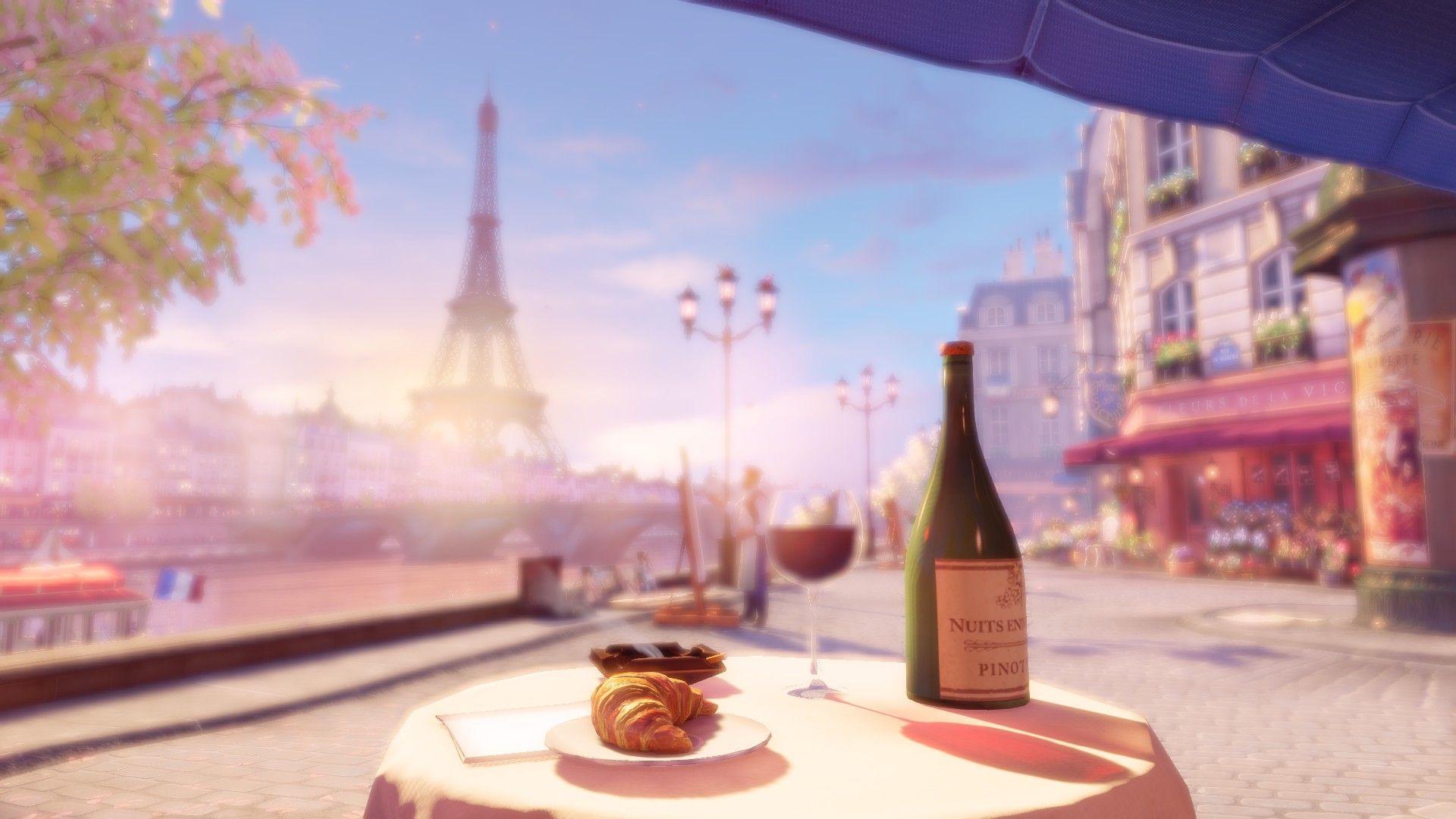 Anime Paris Wallpapers Top Free Anime Paris Backgrounds Wallpaperaccess