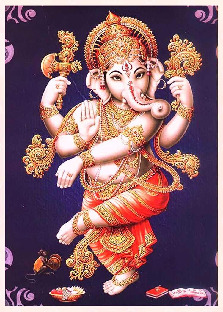 Ganesh Ji Wallpapers Top Free Ganesh Ji Backgrounds Wallpaperaccess