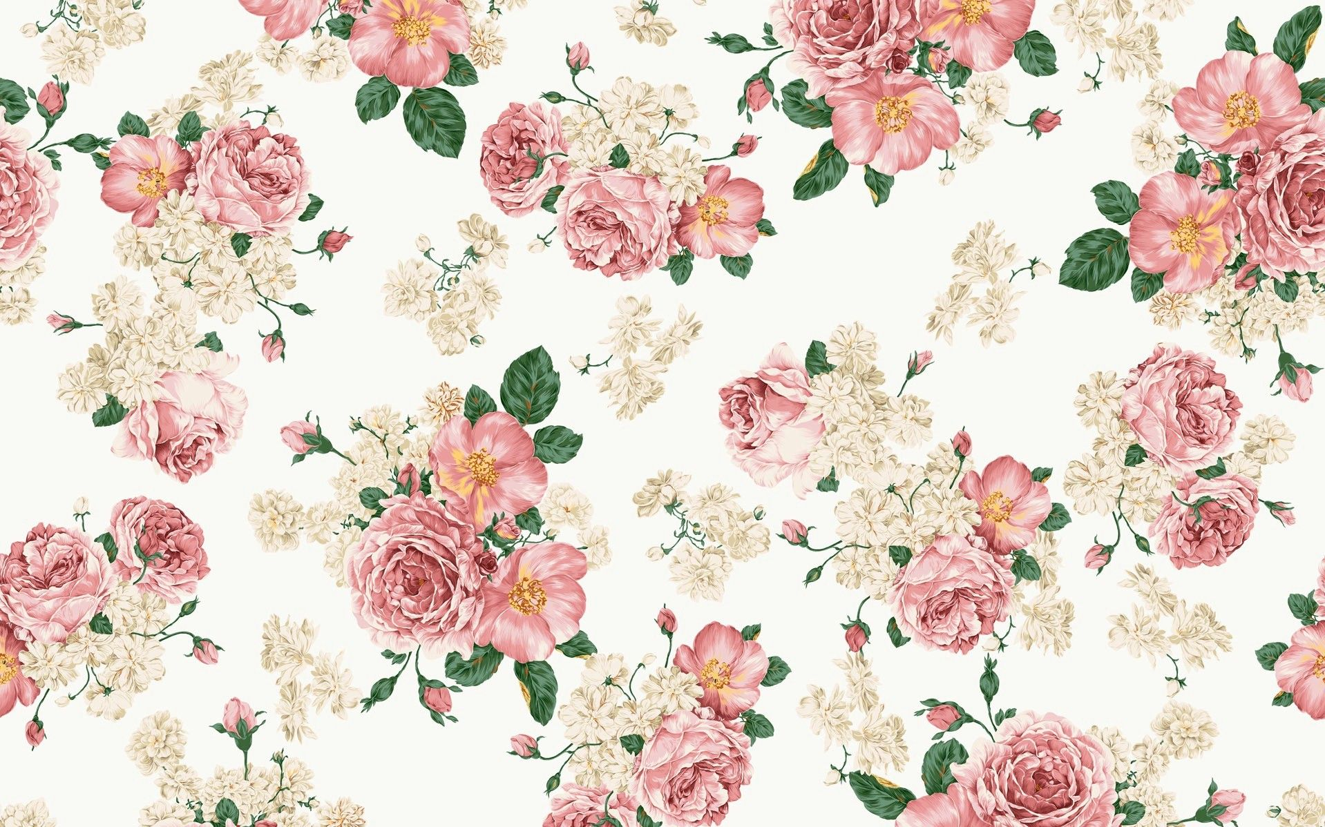 Vintage Flower Wallpapers Top Free Vintage Flower Backgrounds
