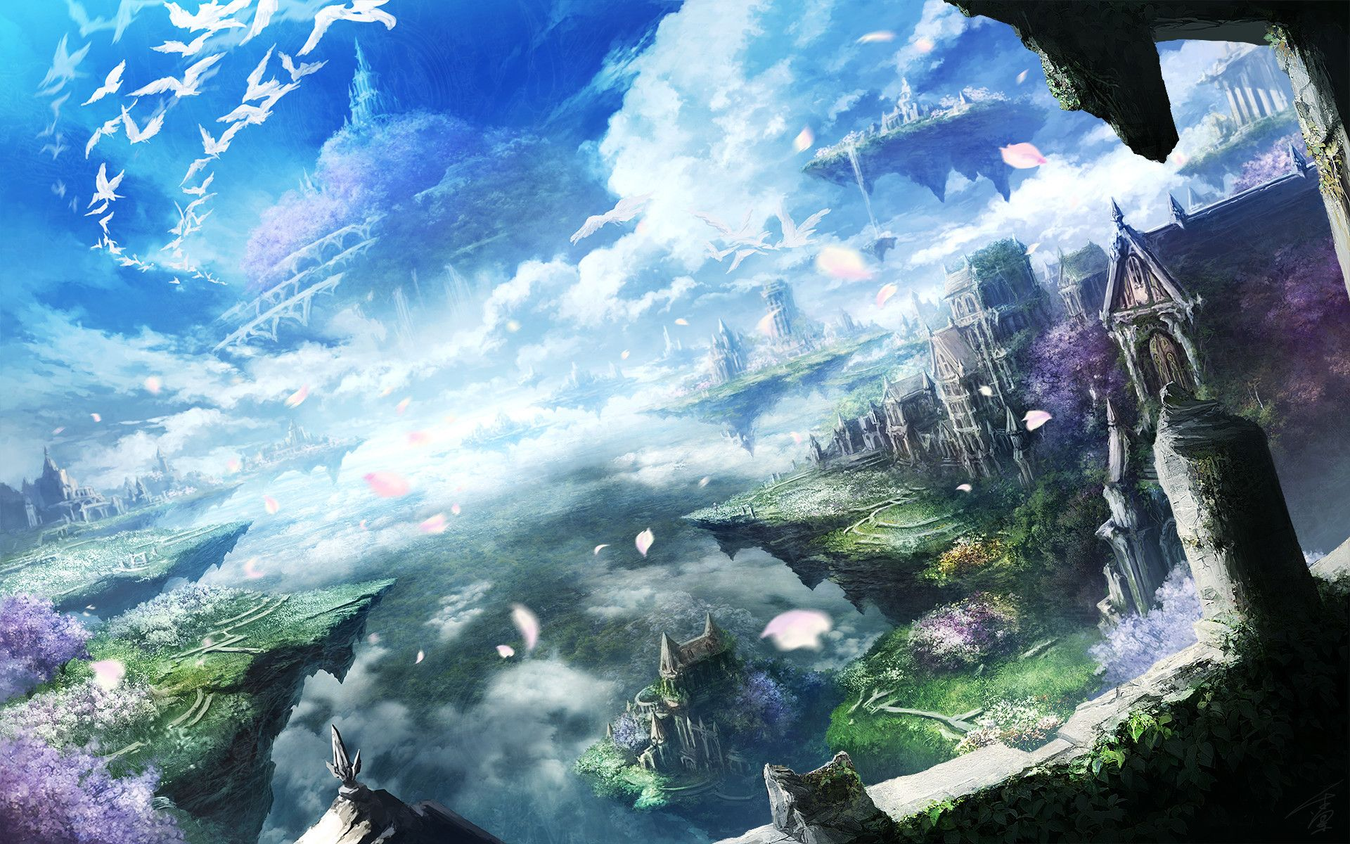 Beautiful Anime Wallpapers Top Free Beautiful Anime Backgrounds