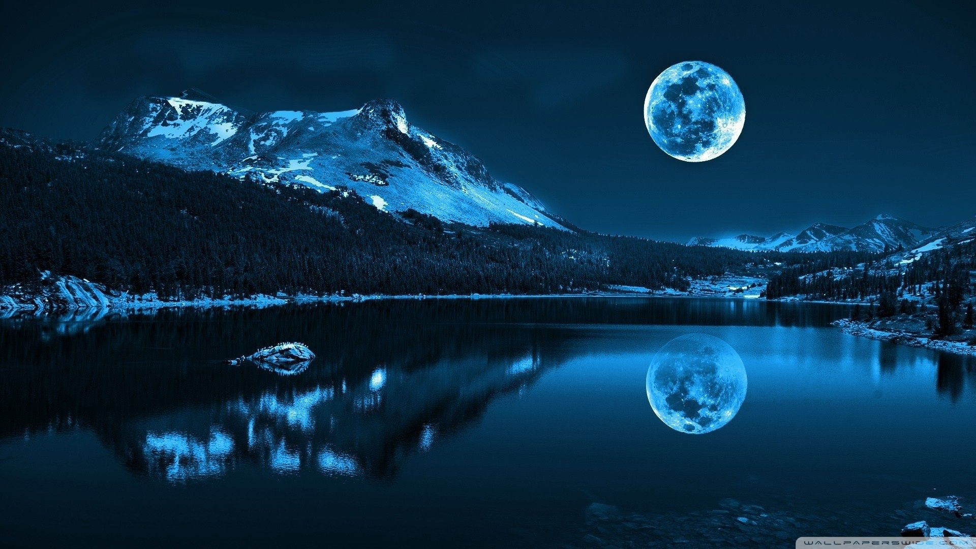 Moonlight Wallpapers Top Free Moonlight Backgrounds Wallpaperaccess