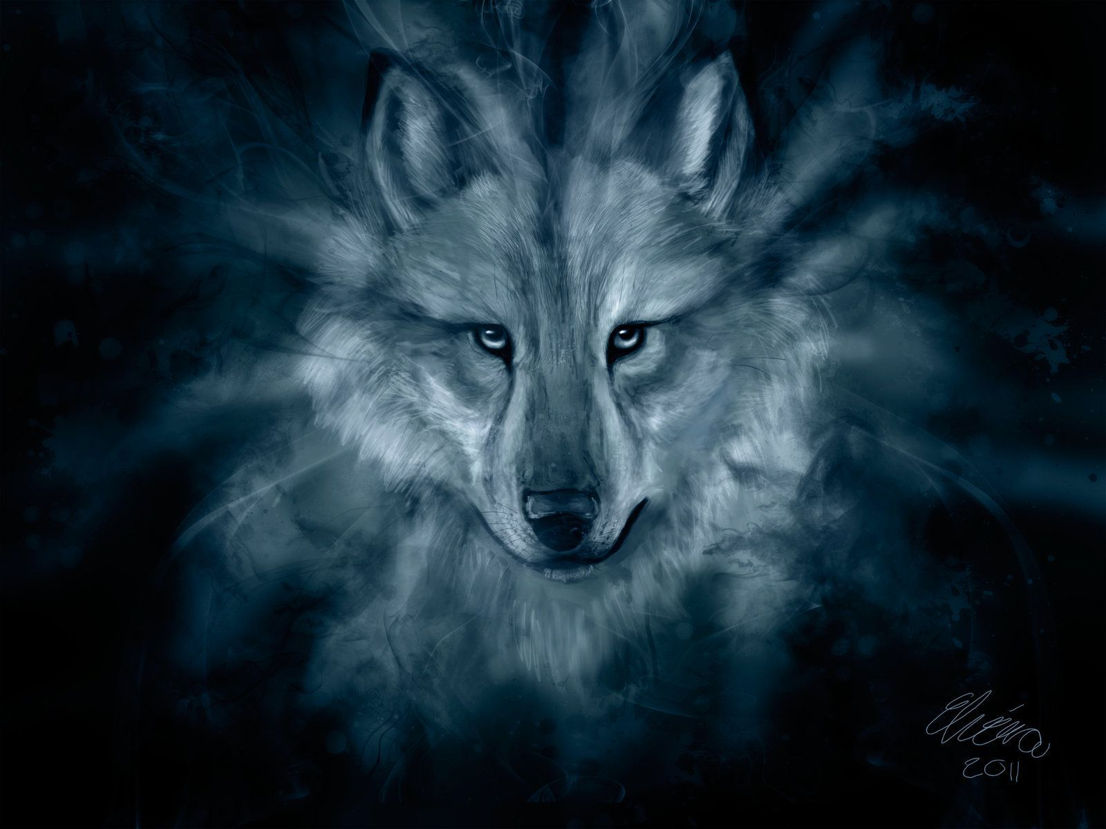 Ice Spirit Wolf Wallpapers - Top Free Ice Spirit Wolf Backgrounds