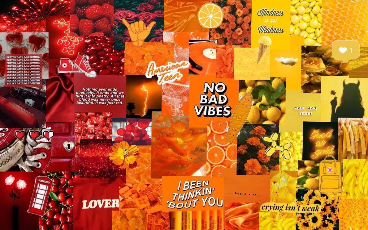 Orange Laptop Wallpapers Top Free Orange Laptop Backgrounds Wallpaperaccess