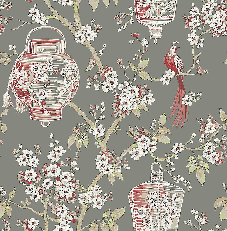 Asian design wallpaper