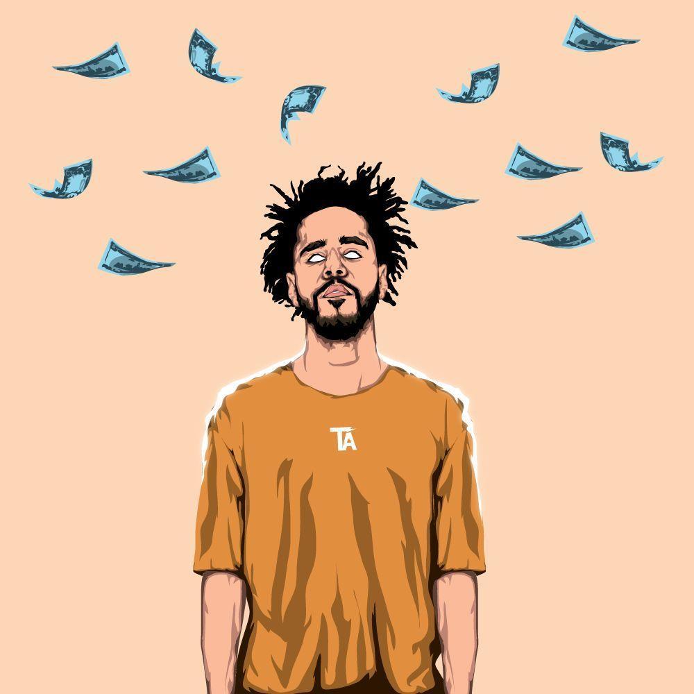 J Cole Cartoon Wallpapers Top Free J Cole Cartoon