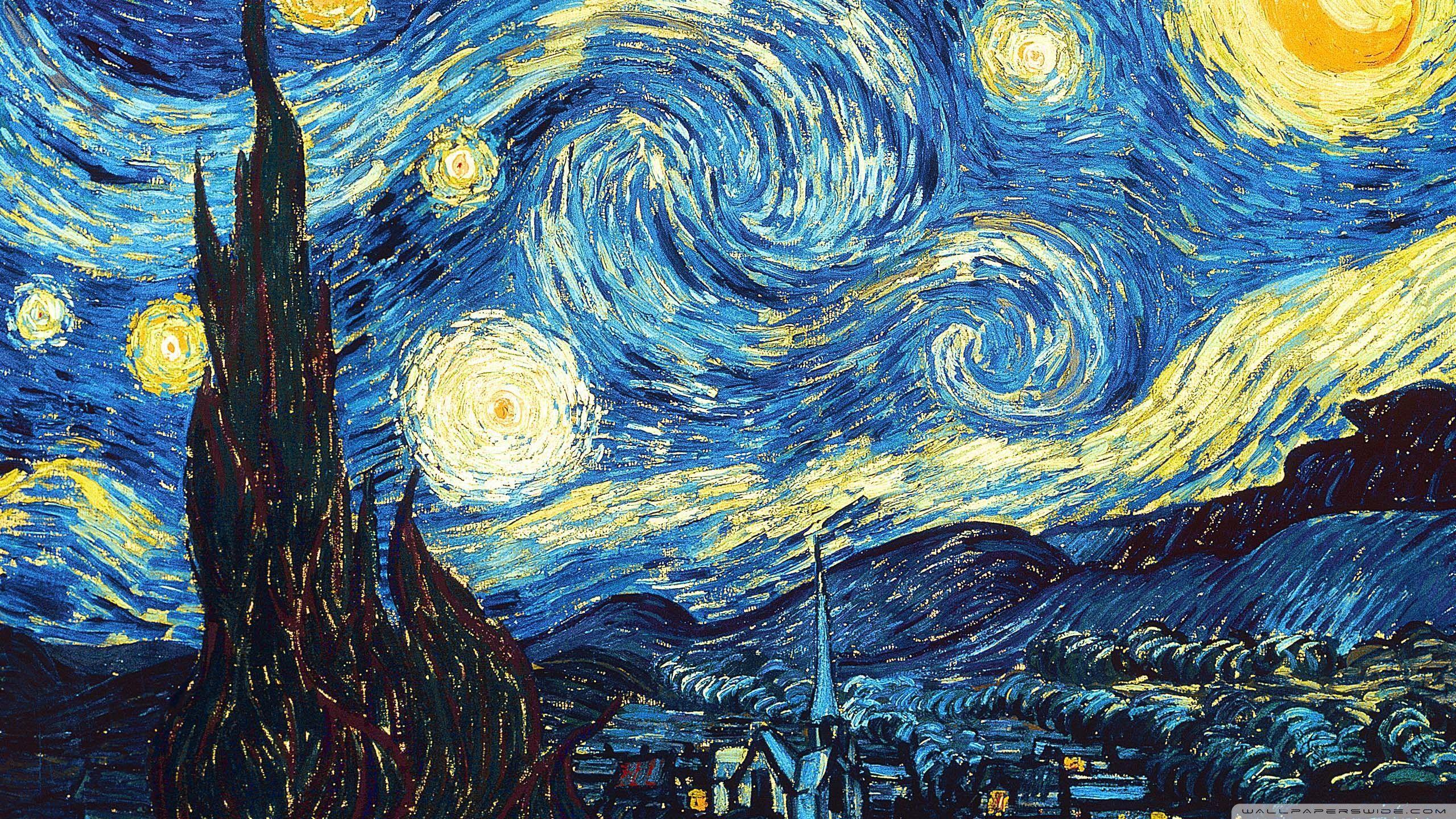Van Gogh Starry Night Grande Mug in Gift Box | Stash Tea |Van Gogh Wallpaper Starry Night