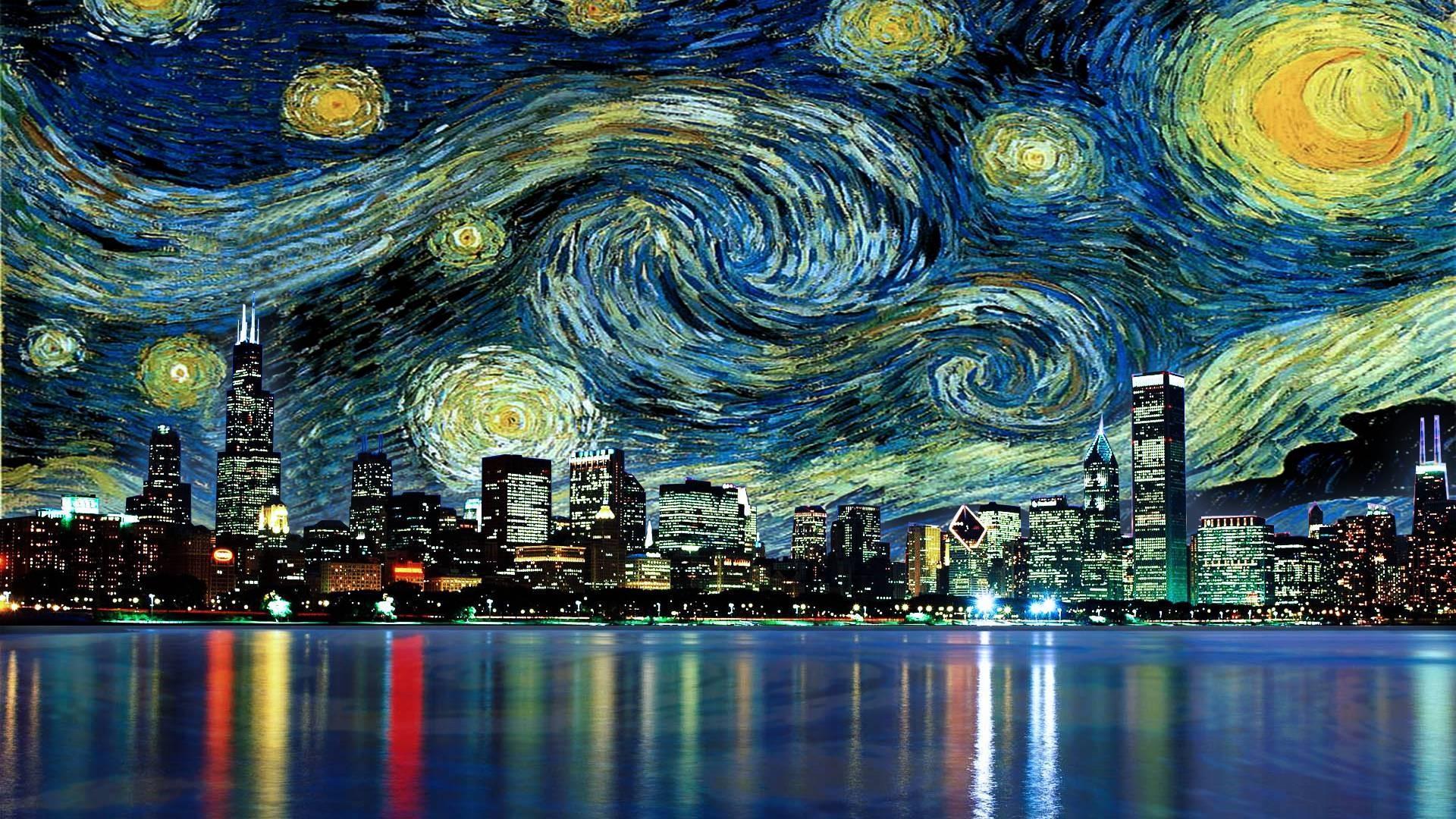 Van Gogh Starry Night Wallpapers Top Free Van Gogh Starry