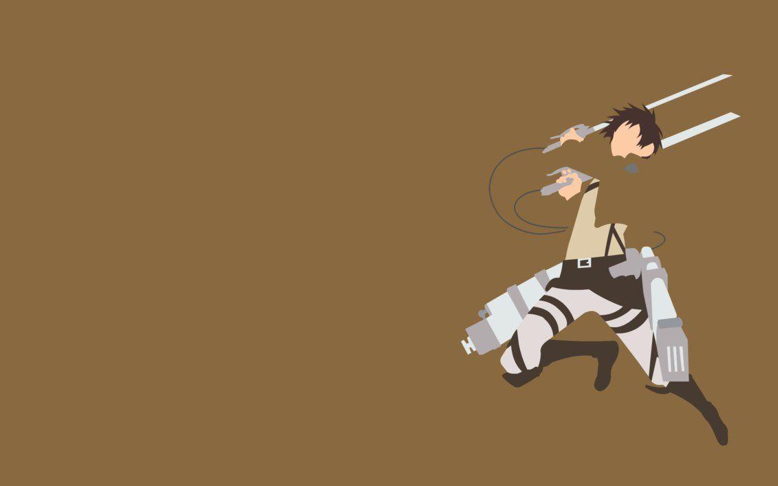 Attack On Titan Minimalist Wallpapers Top Free Attack On Titan Minimalist Backgrounds Wallpaperaccess