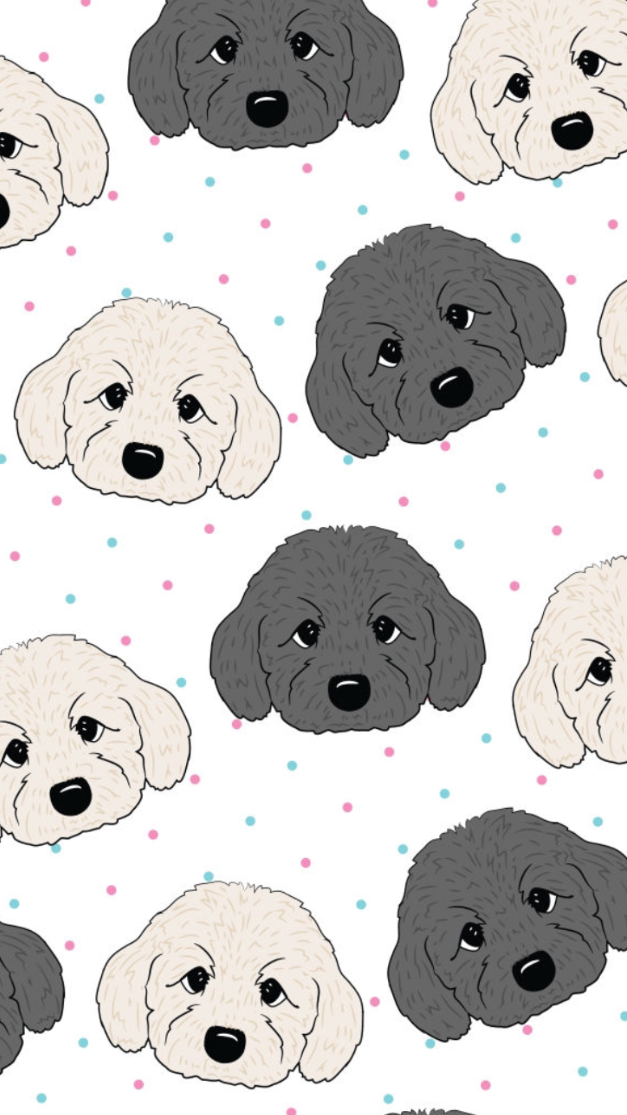 Dog Pattern Wallpapers Top Free Dog Pattern Backgrounds Wallpaperaccess