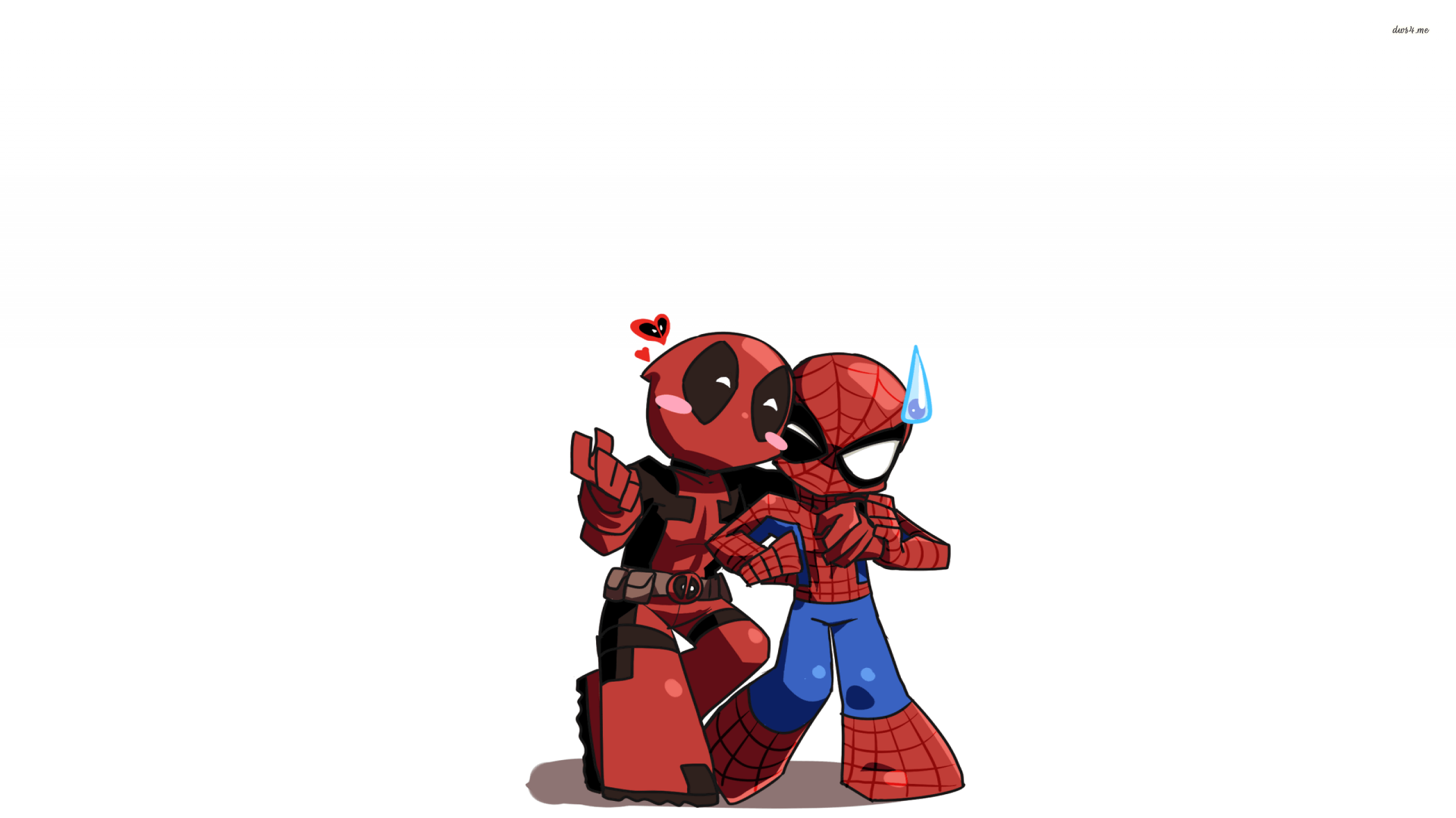 Chibi Deadpool And Spider Man Wallpapers Top Free Chibi Deadpool
