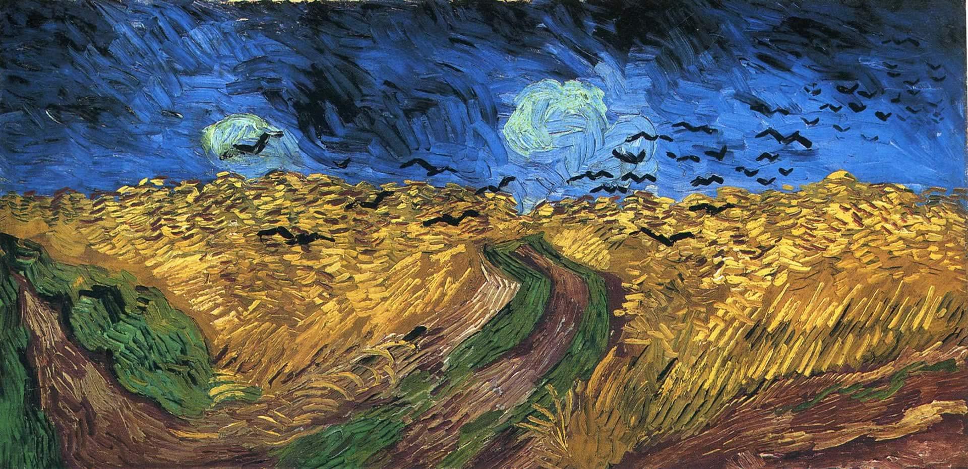 Landscape Vincent Van Gogh Wallpapers