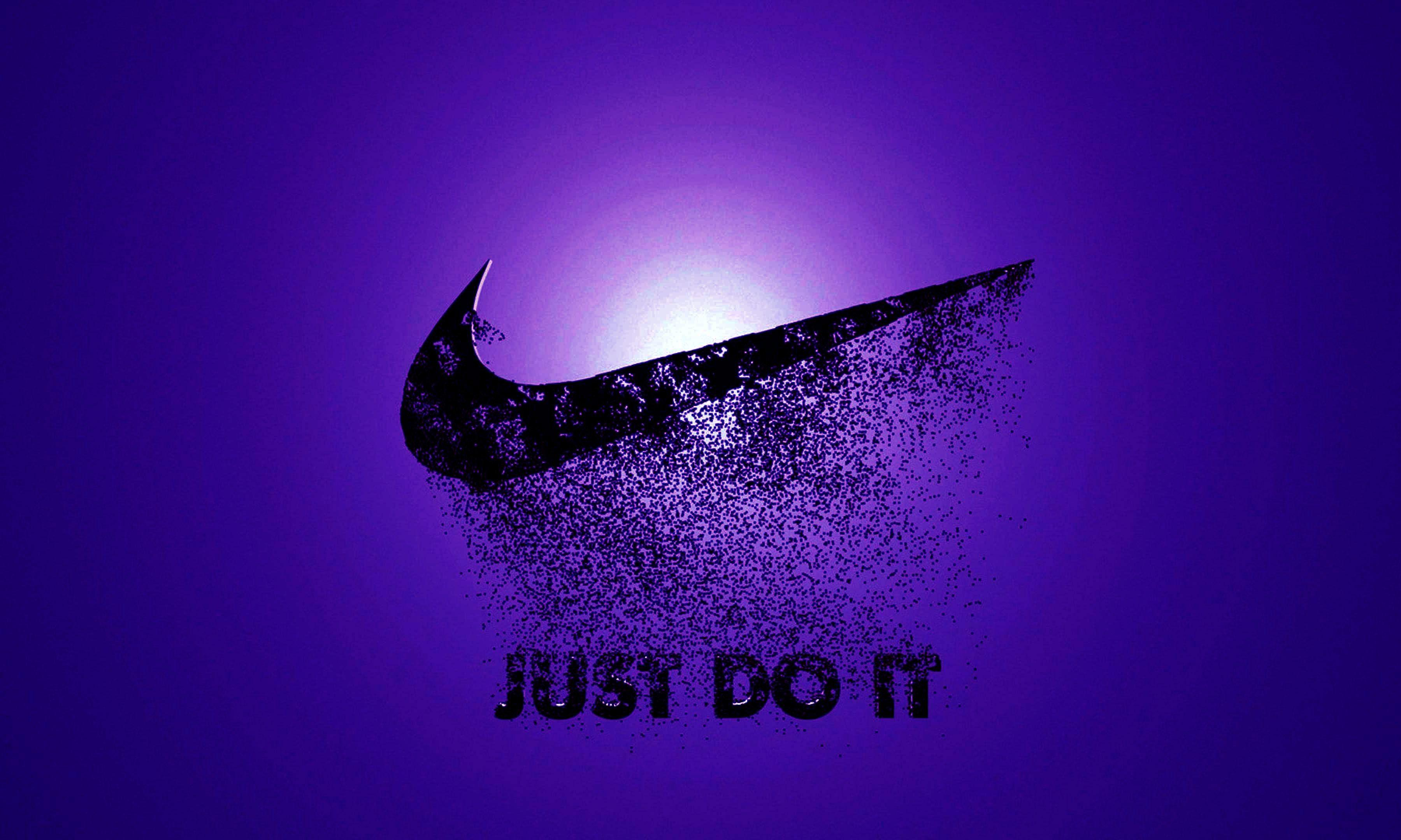 Purple Nike Wallpapers Top Free Purple Nike Backgrounds Wallpaperaccess