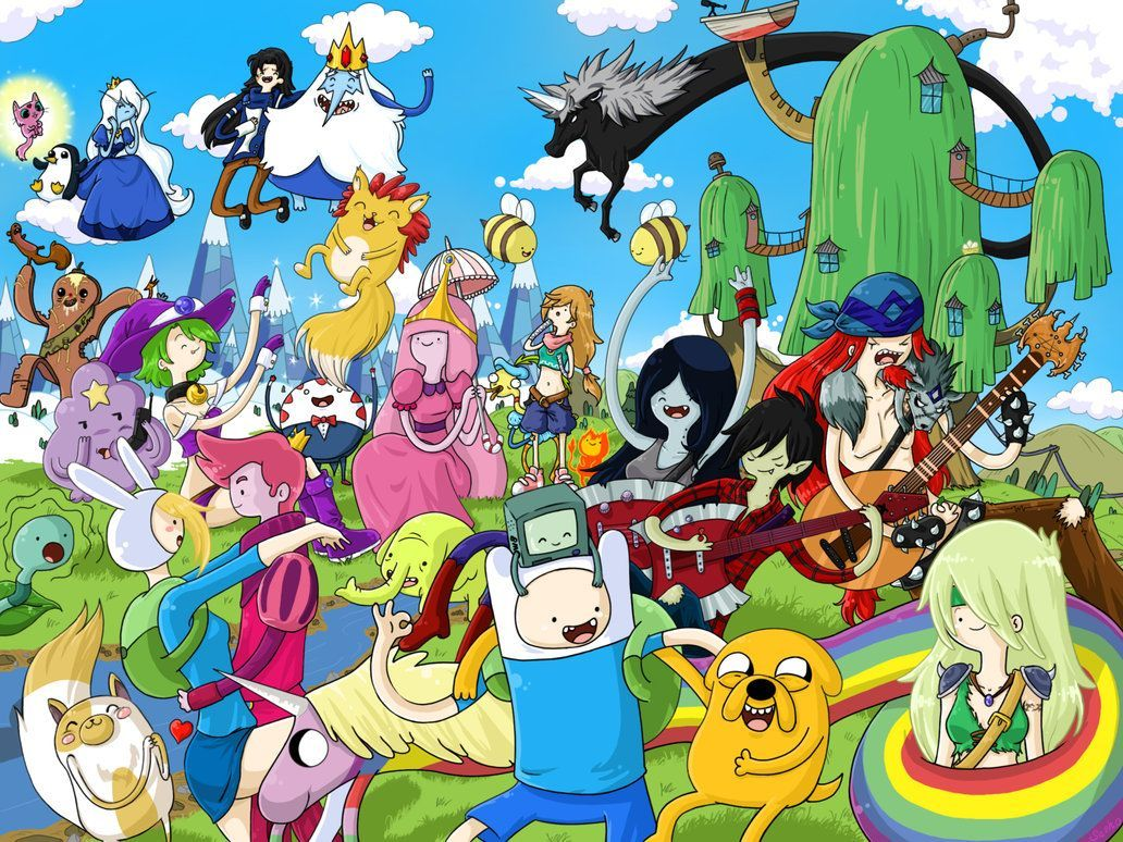 Adventure Time Characters Wallpapers - Top Free Adventure Time ...