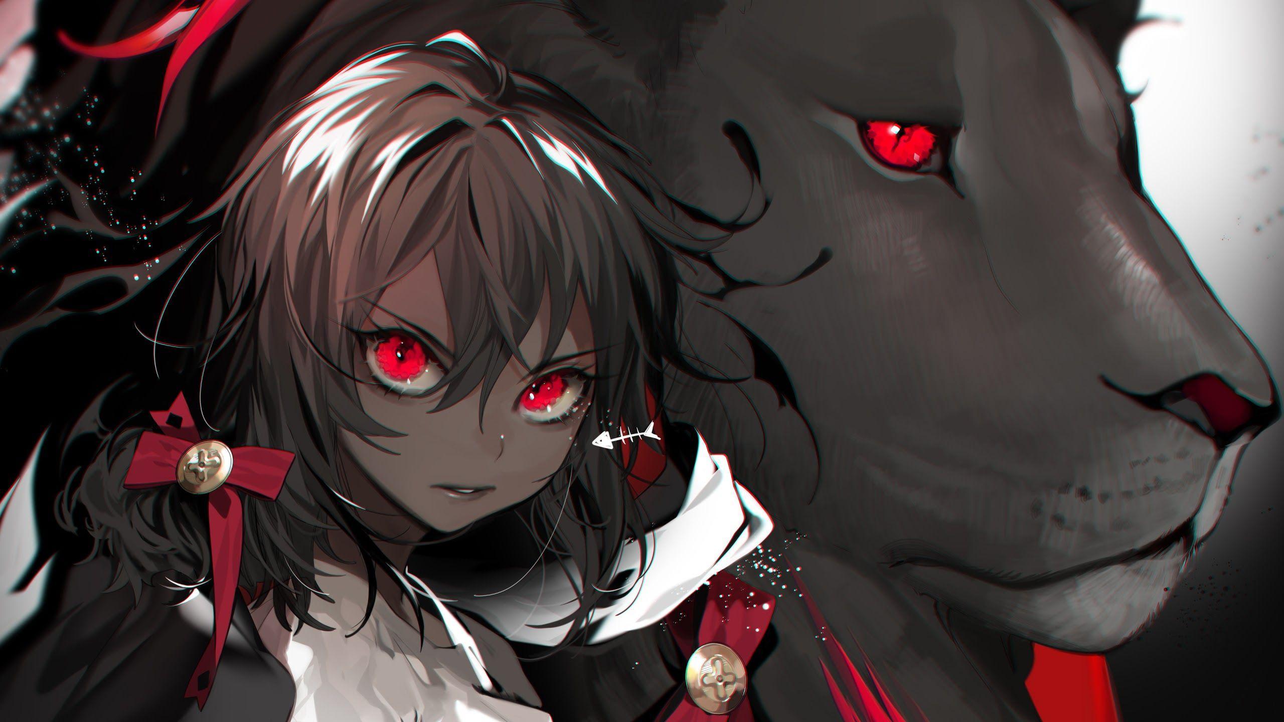 Red Anime Girl 4K Wallpapers - Top Free Red Anime Girl 4K ...